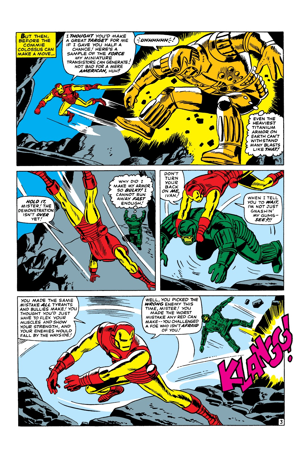 Read online Marvel Masterworks: The Invincible Iron Man comic -  Issue # TPB 3 (Part 2) - 21