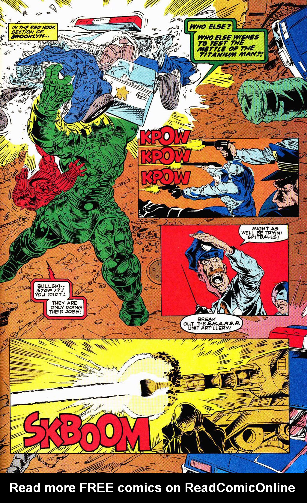 Read online Soviet Super Soldiers comic -  Issue # Full - 34