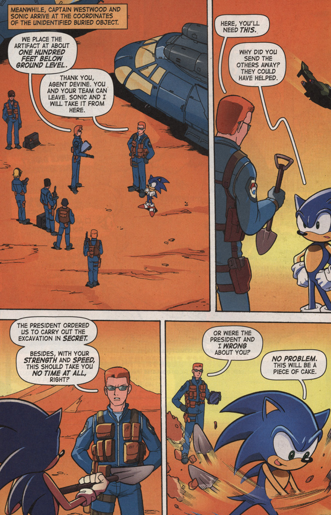 Read online Sonic X comic -  Issue #7 - 18