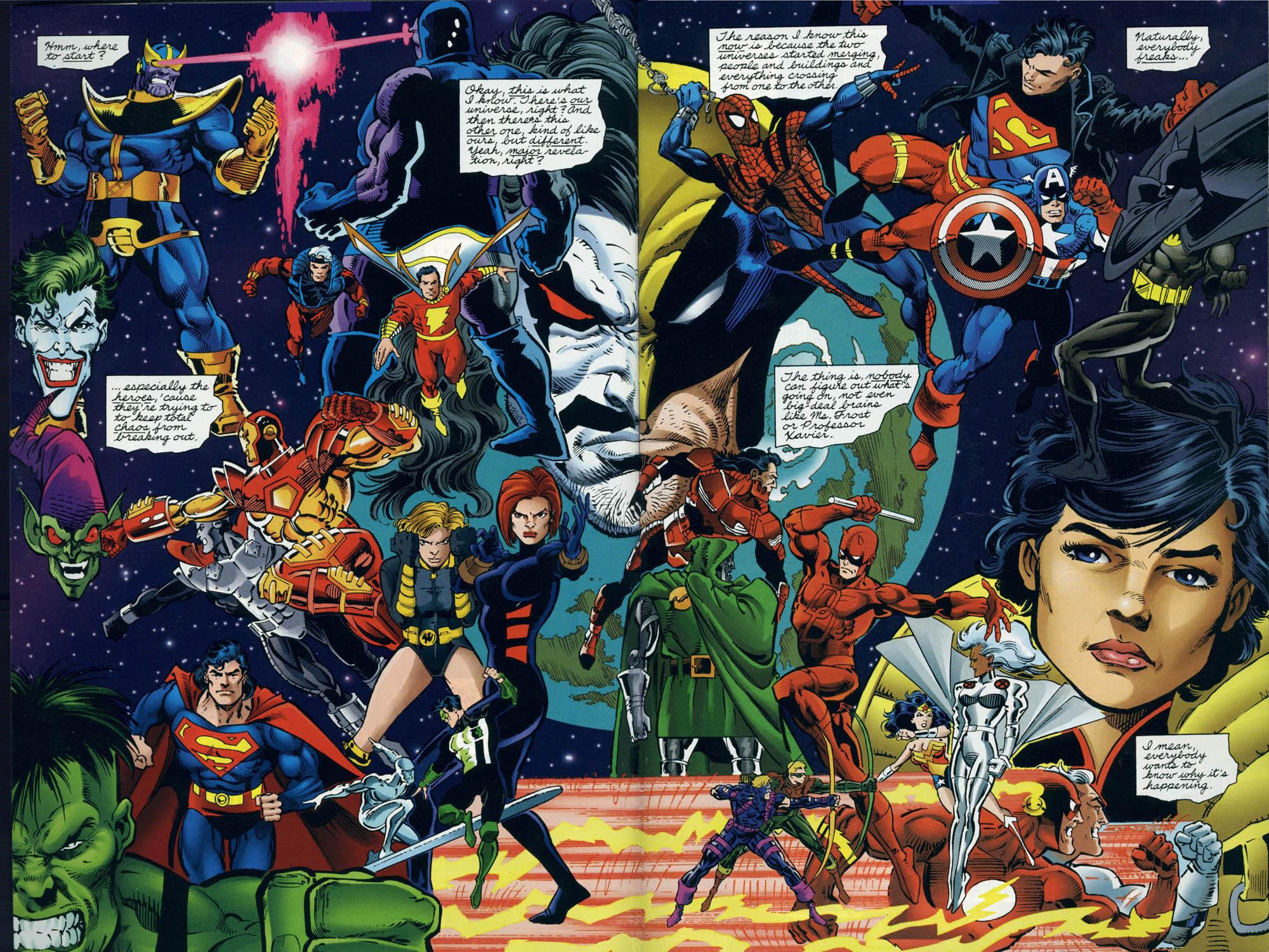 Read online DC Versus Marvel Comics comic -  Issue #3 - 4