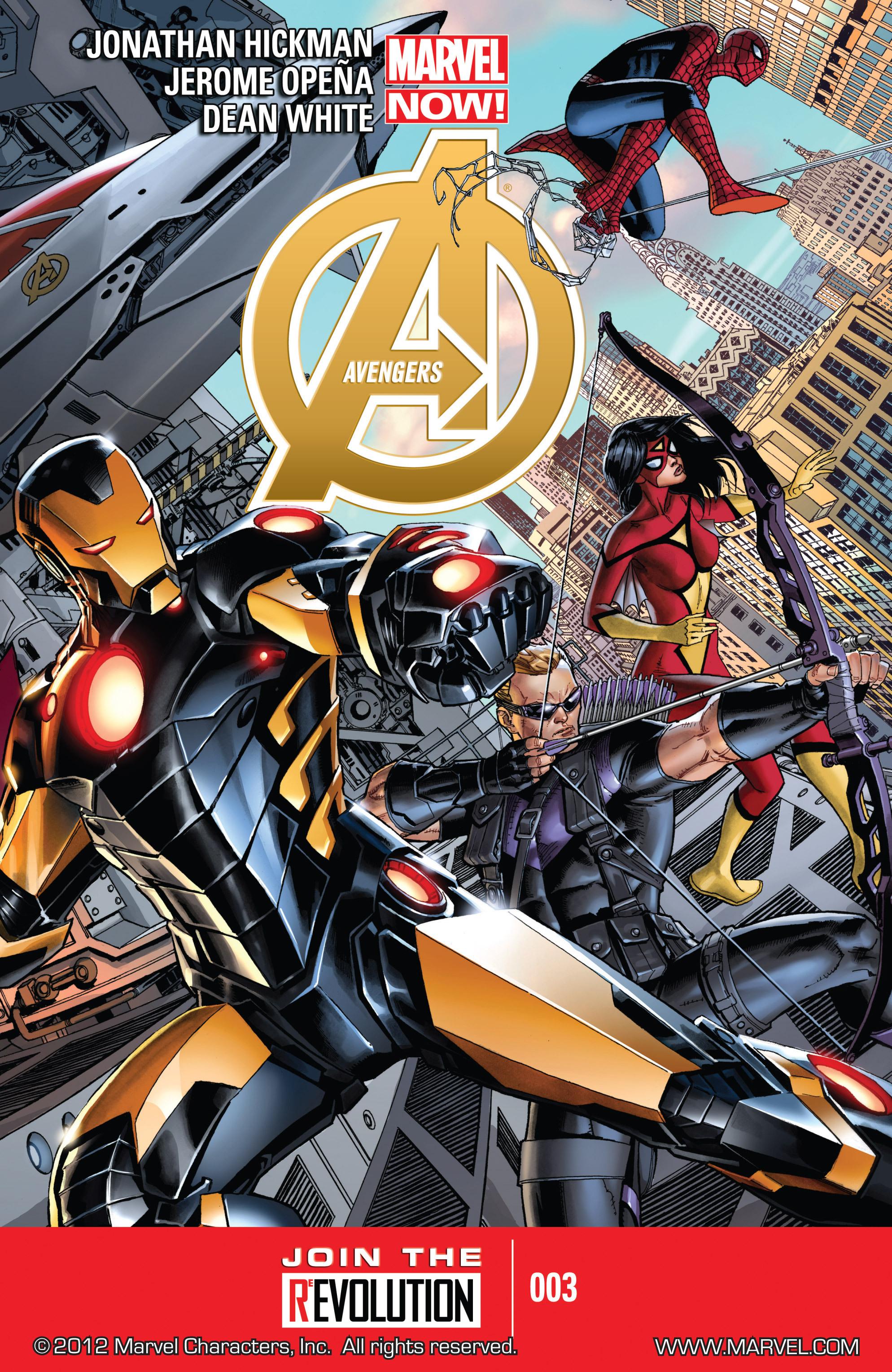 Read online Avengers (2013) comic -  Issue #Avengers (2013) _TPB 1 - 53