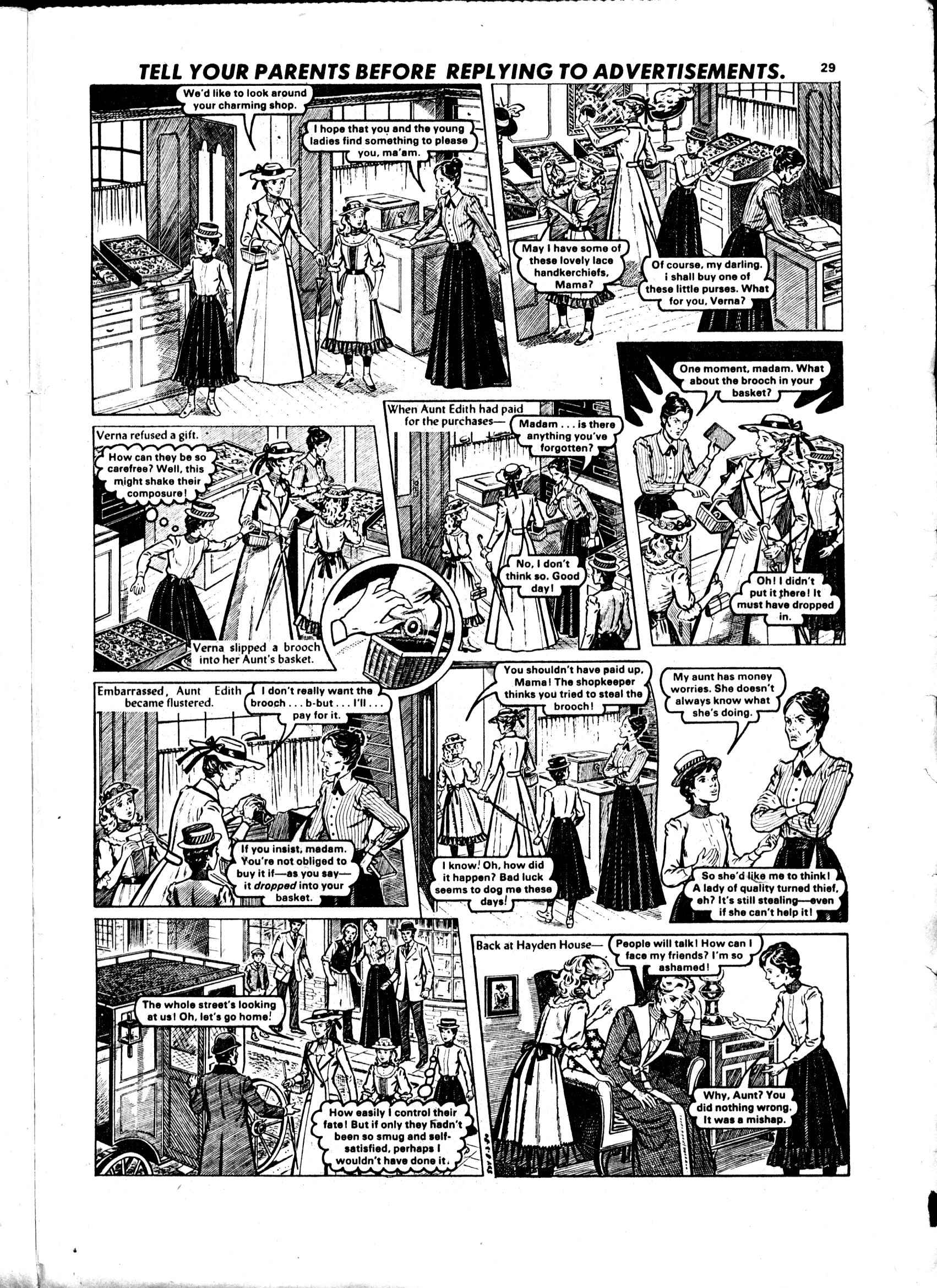 Read online Judy comic -  Issue #1052 - 29