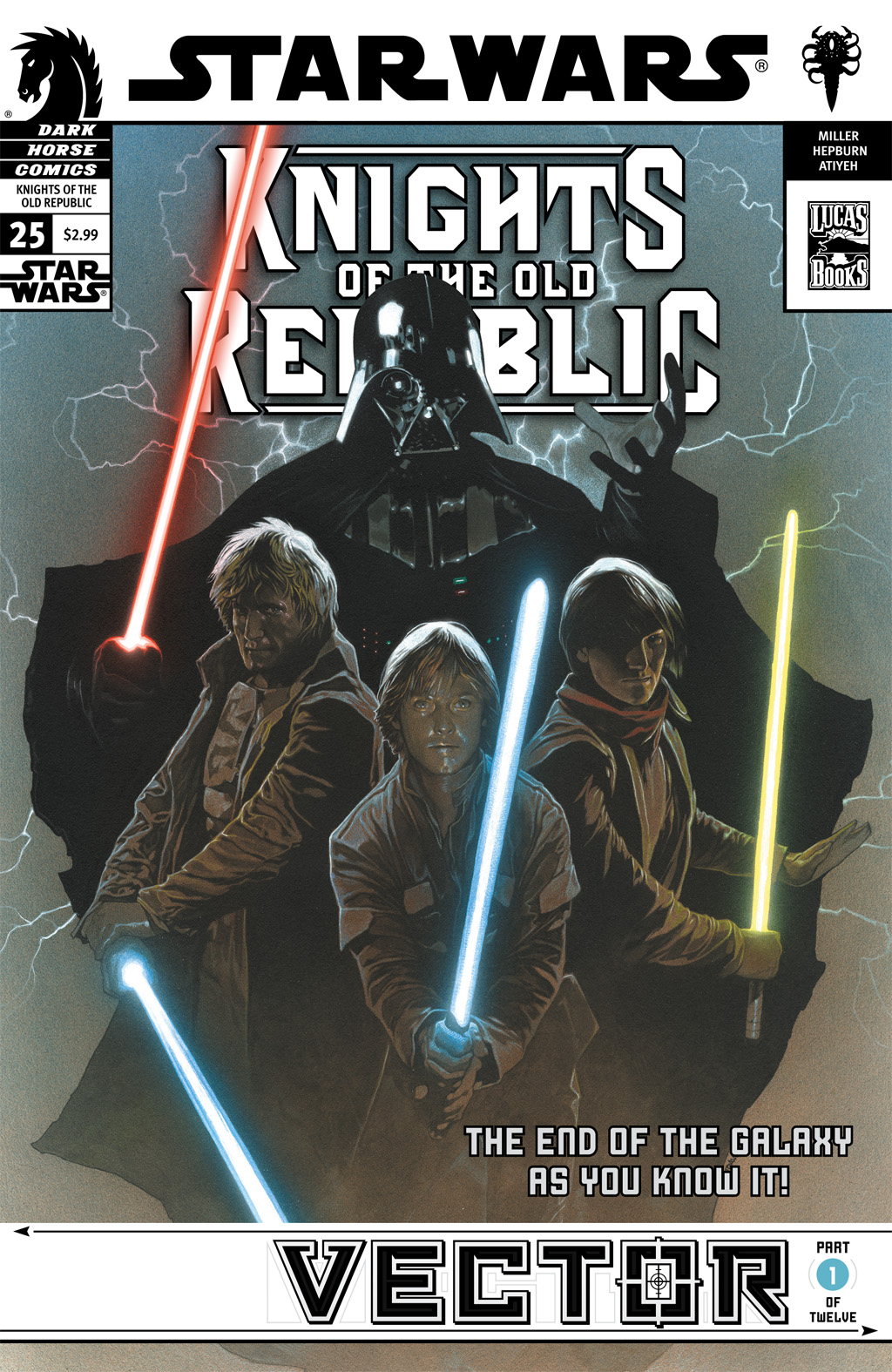 Star Wars: Knights Of The Old Republic issue 25 - Page 1