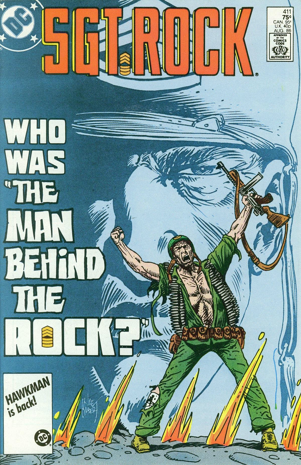 Read online Sgt. Rock comic -  Issue #411 - 1