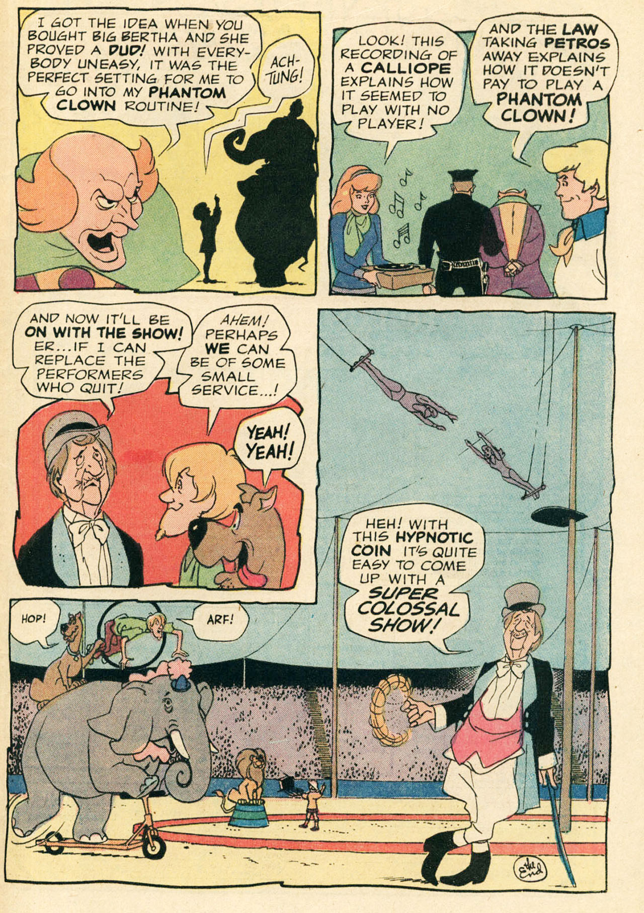 Read online Scooby-Doo... Where Are You! (1970) comic -  Issue #9 - 34