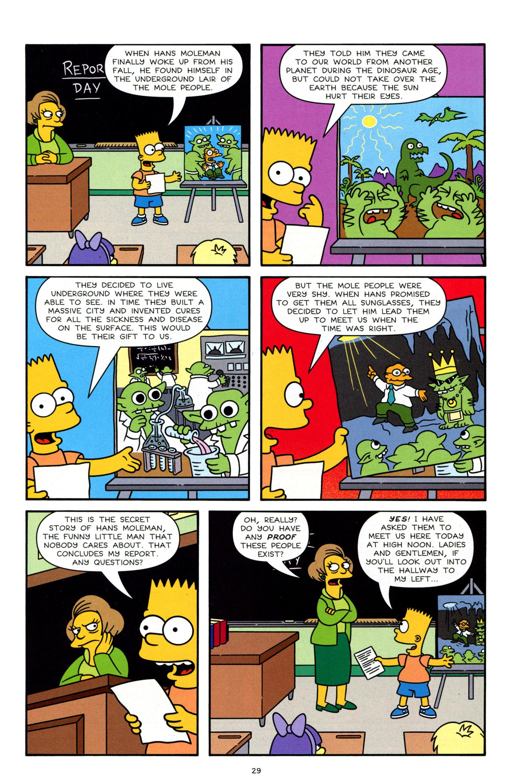 Read online Simpsons Comics Presents Bart Simpson comic -  Issue #63 - 30