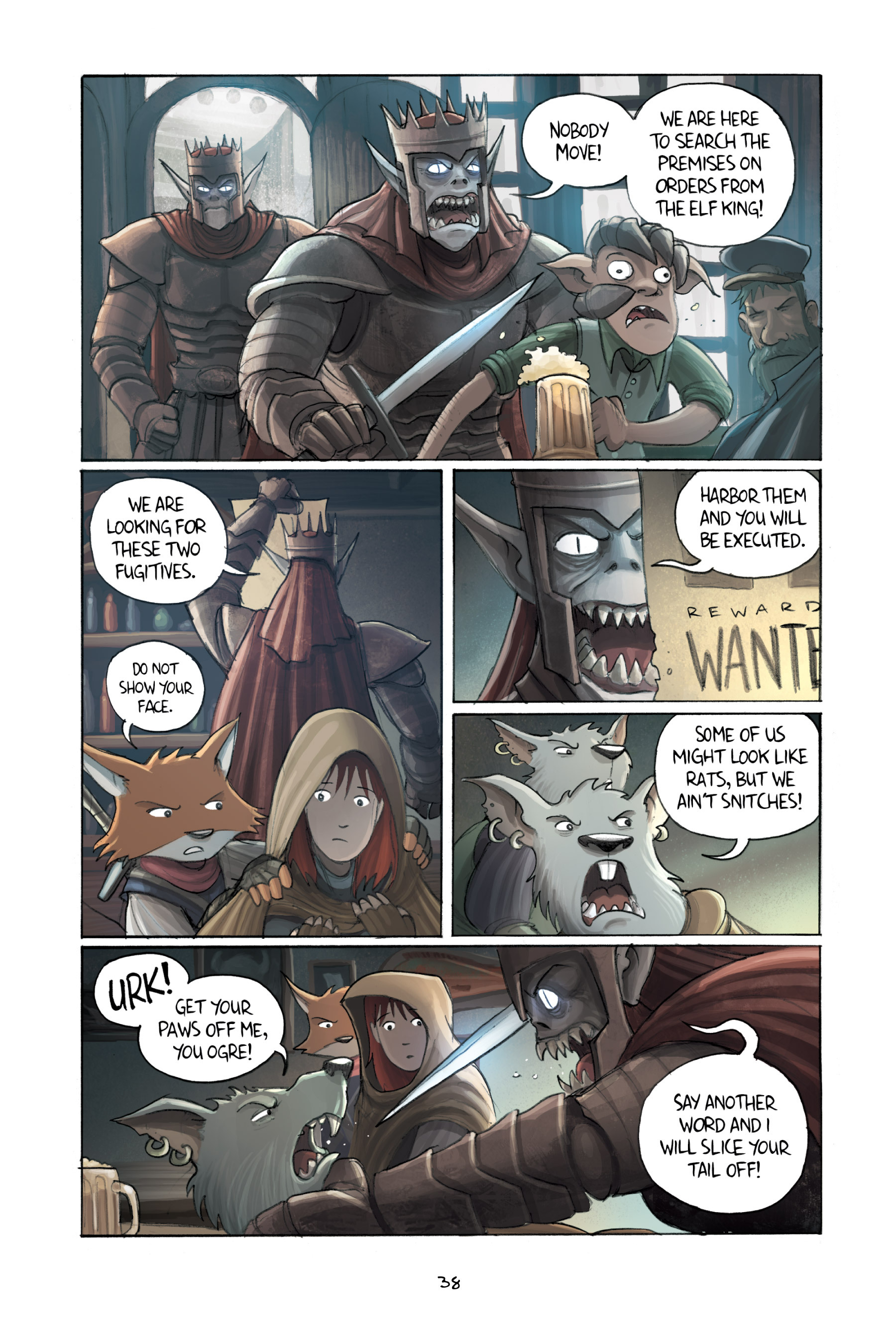 Read online Amulet comic -  Issue #3 - 37