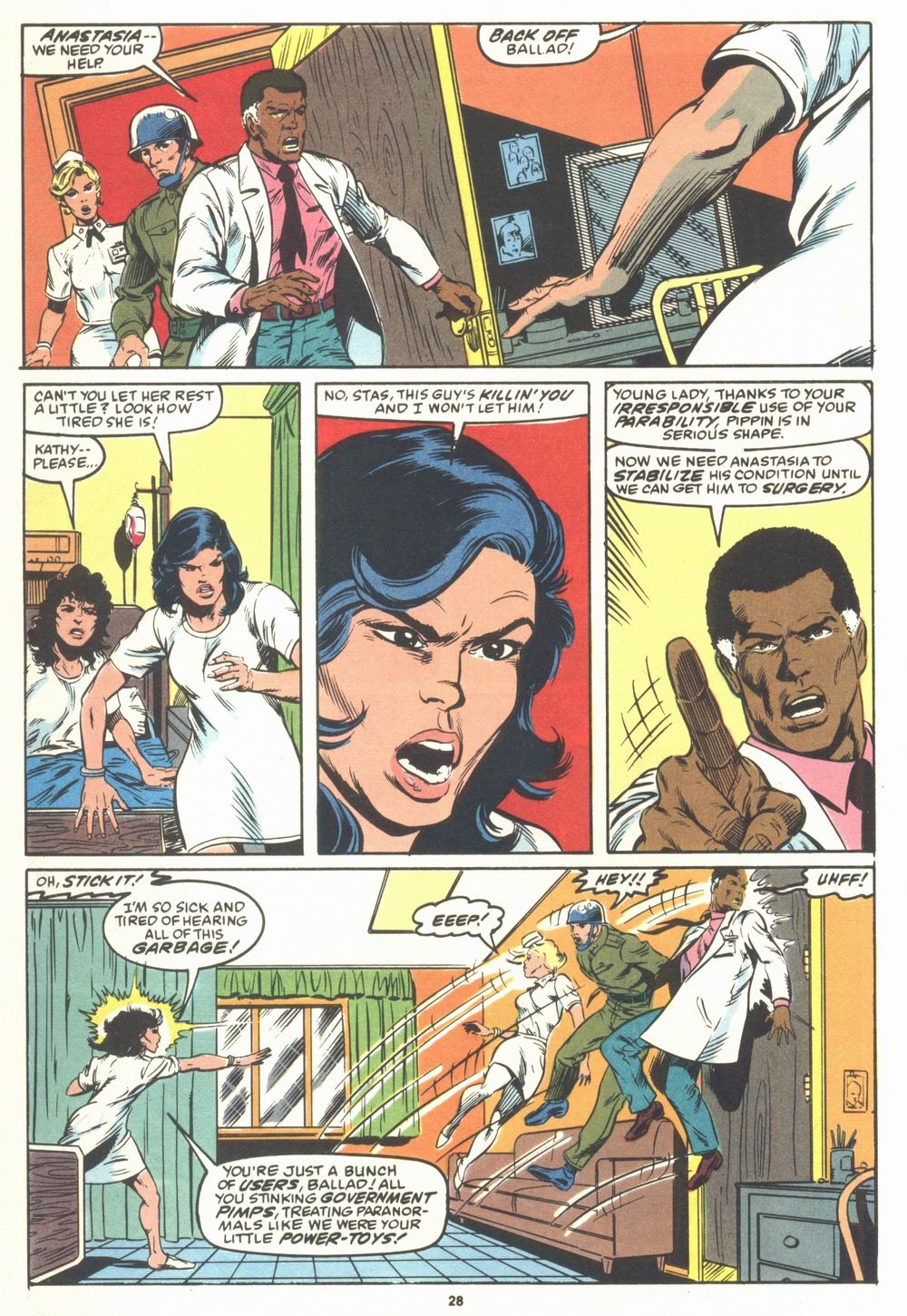Read online Justice (1986) comic -  Issue #23 - 30