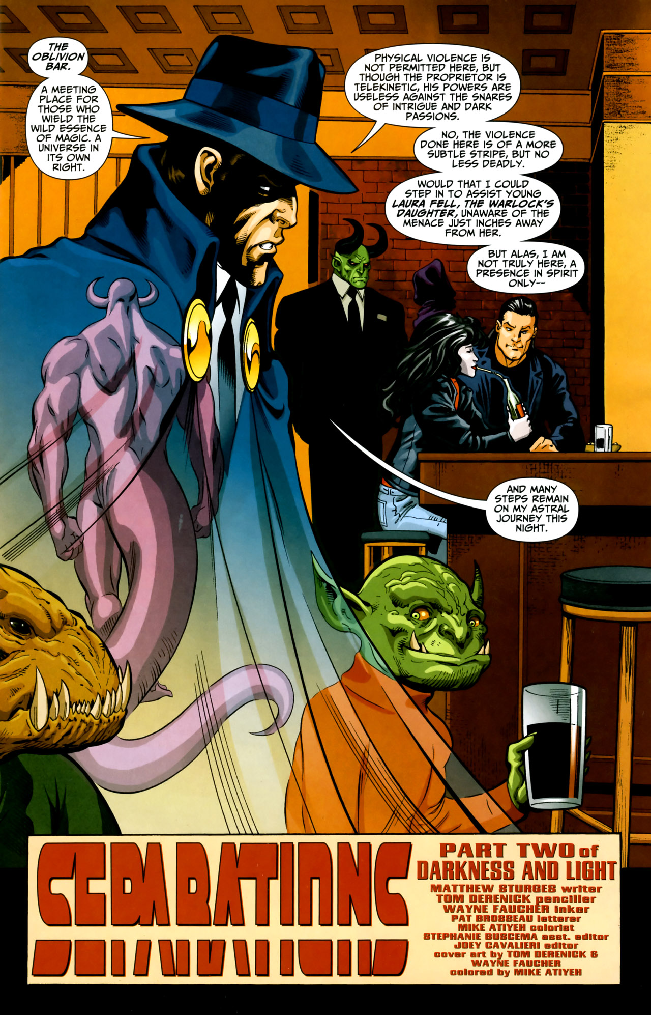 Read online Shadowpact comic -  Issue #18 - 2