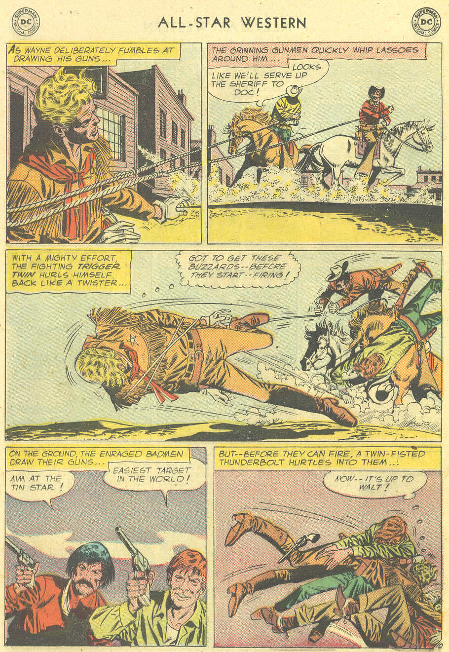 Read online All-Star Western (1951) comic -  Issue #101 - 12