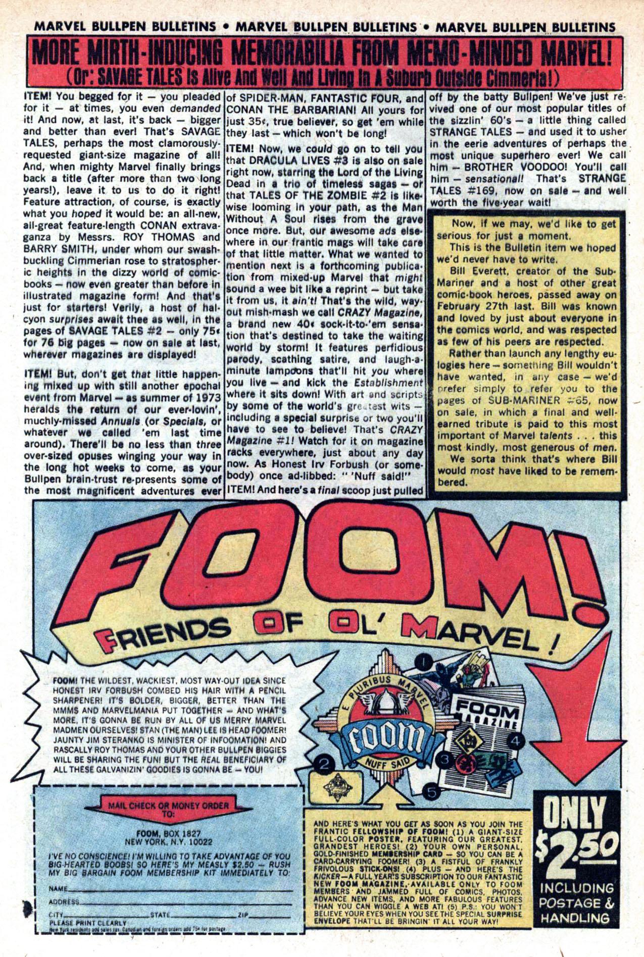 Read online Amazing Adventures (1970) comic -  Issue #20 - 32