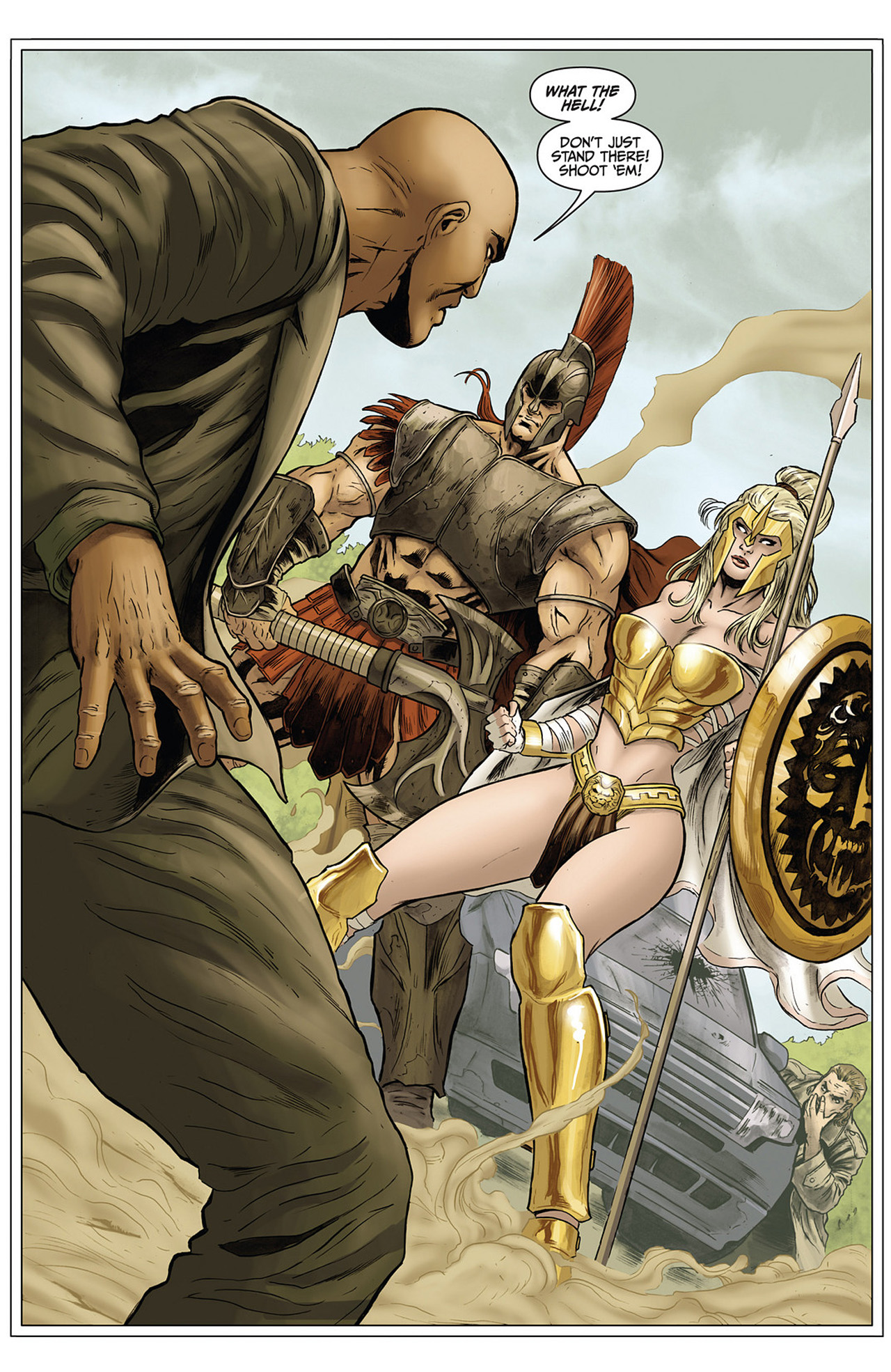 Read online Athena comic -  Issue #3 - 5