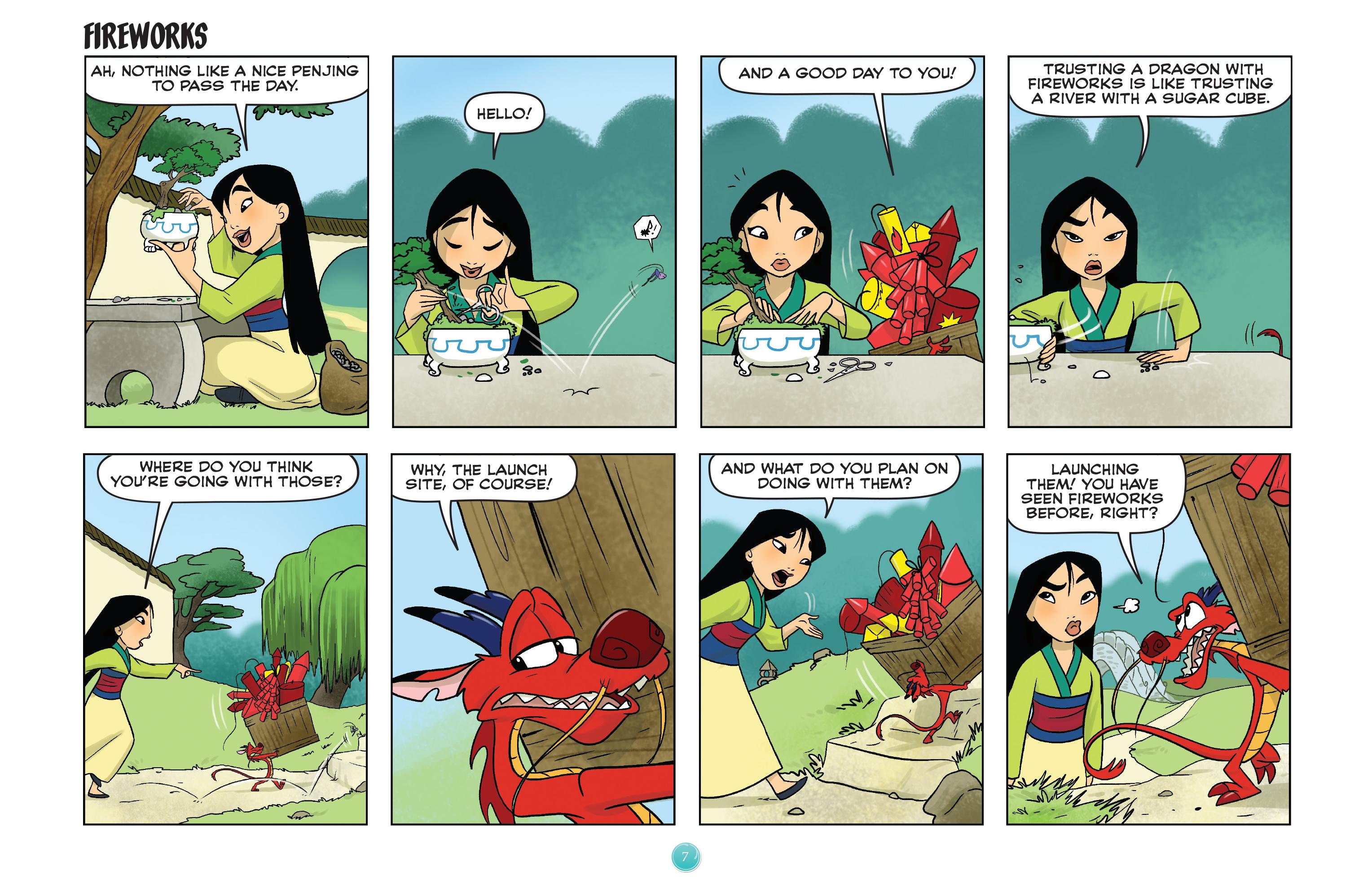 Read online Disney Princess comic -  Issue #7 - 10