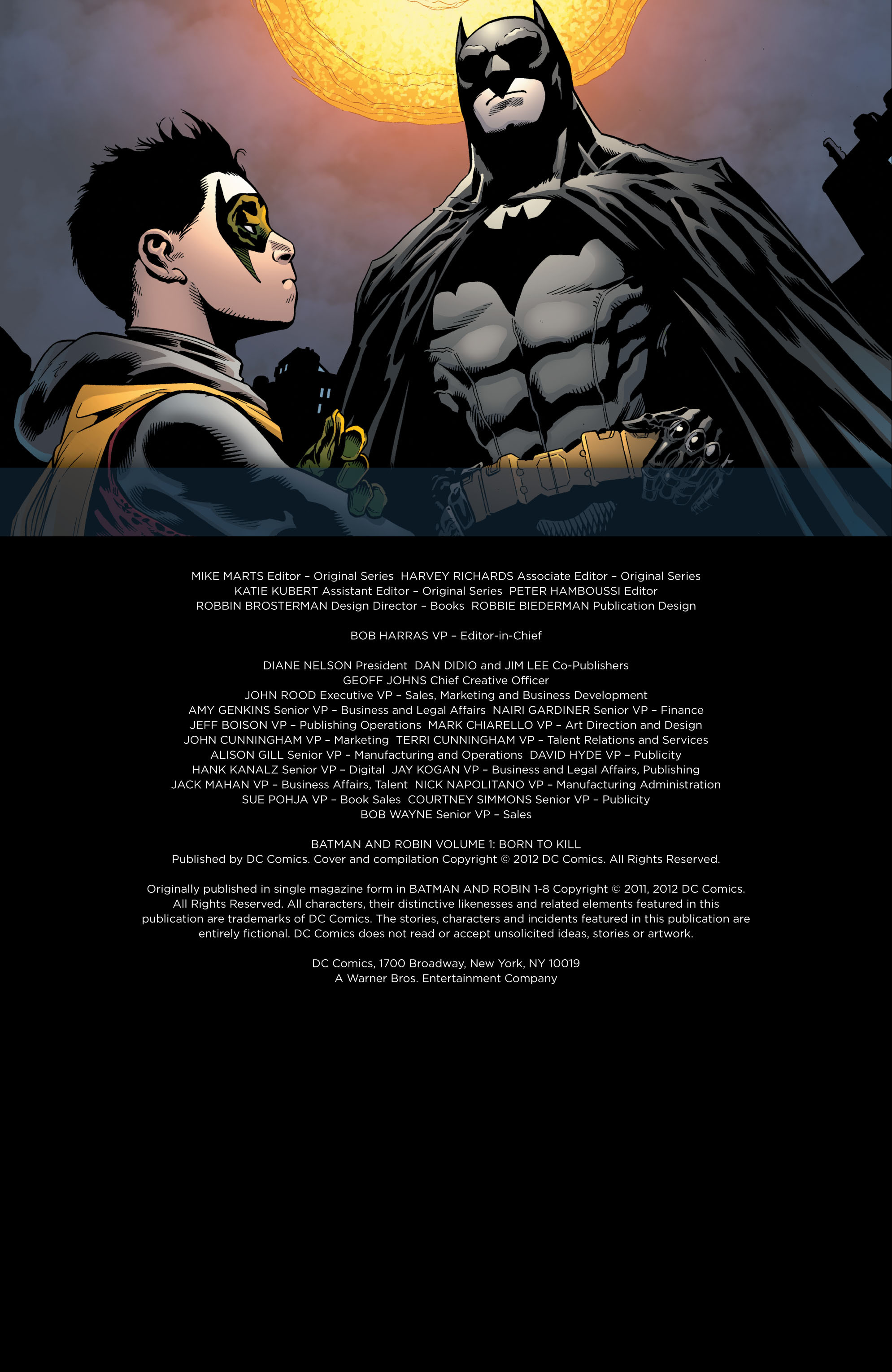 Read online Batman and Robin (2011) comic -  Issue # TPB 1 - 4