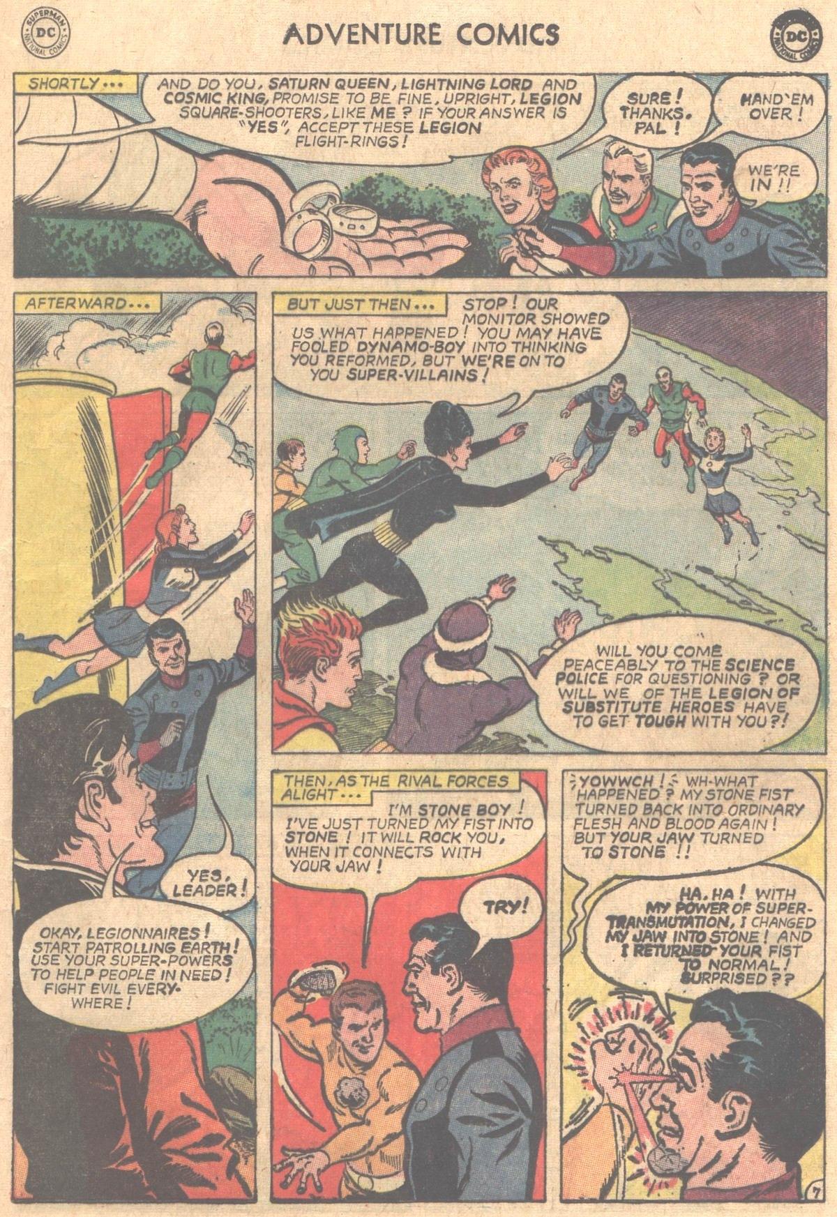 Read online Adventure Comics (1938) comic -  Issue #331 - 8