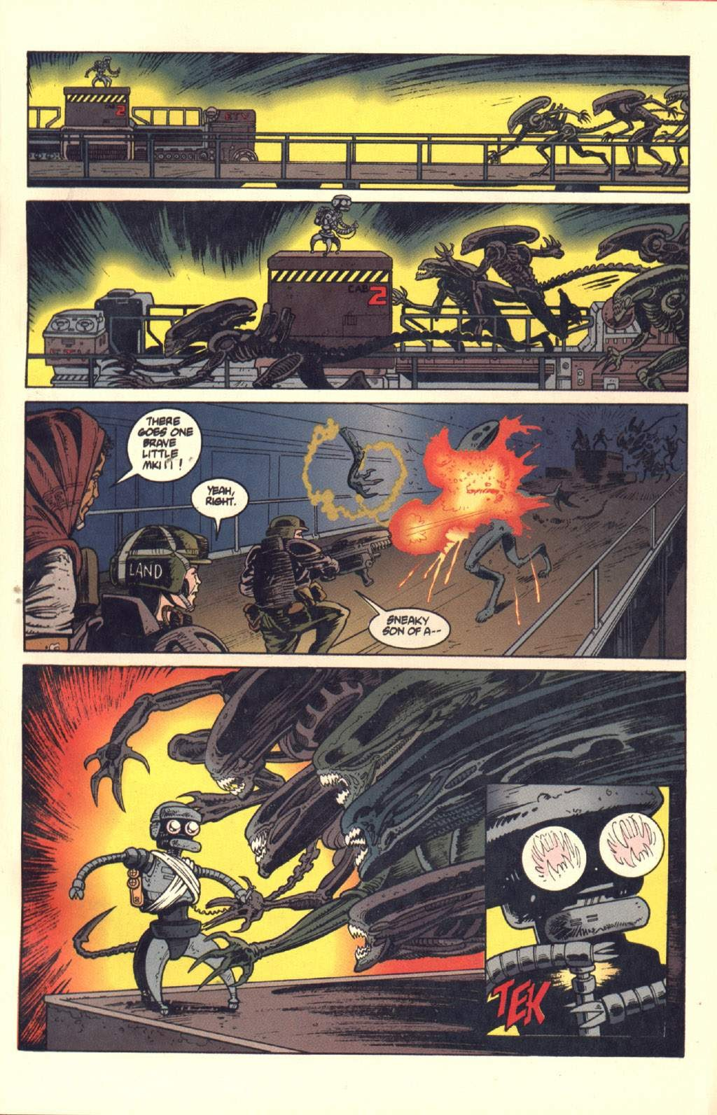 Read online Aliens: Colonial Marines comic -  Issue #7 - 18