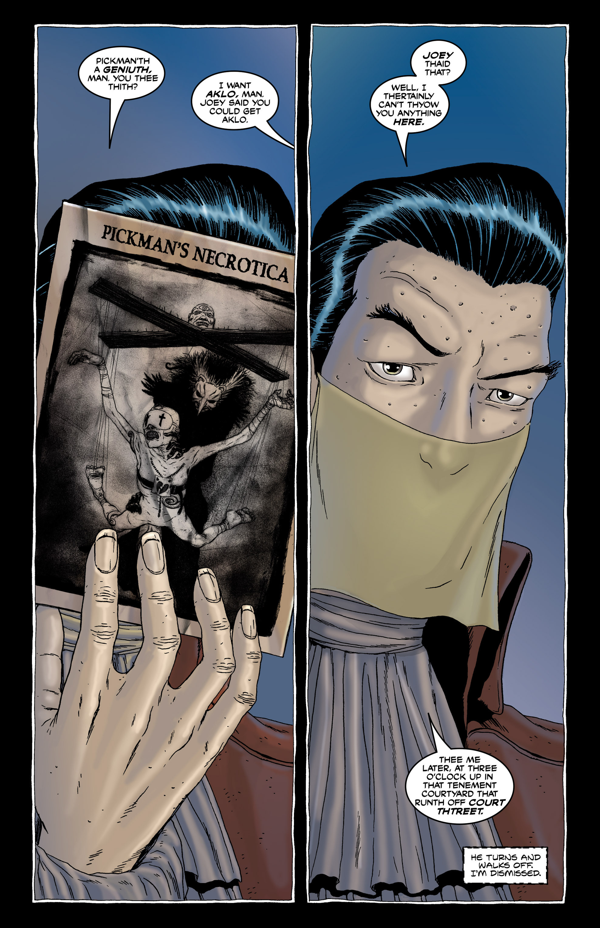 Read online Alan Moore's The Courtyard comic -  Issue # TPB - 25