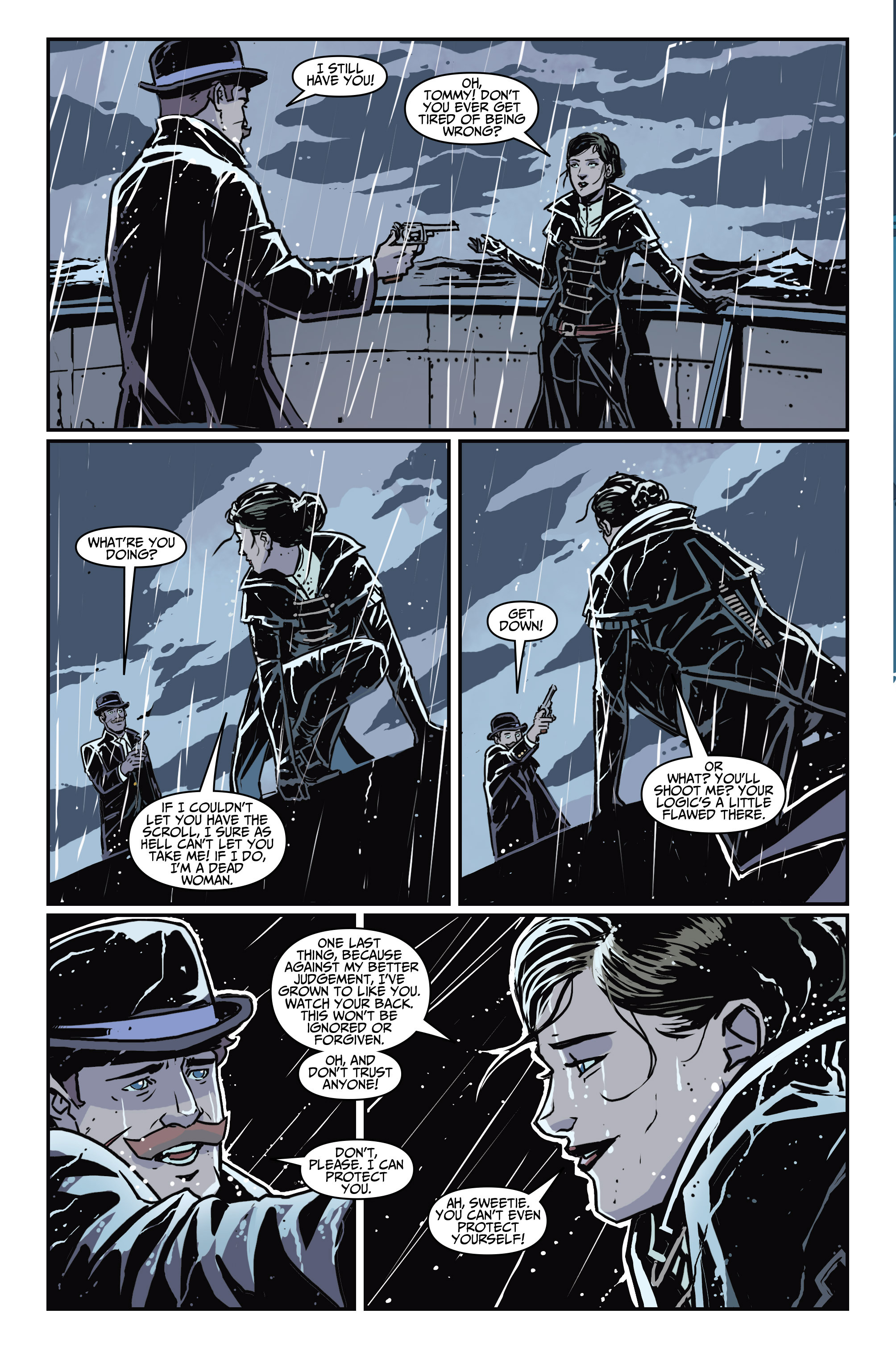 Read online Assassin's Creed: Locus comic -  Issue #4 - 24