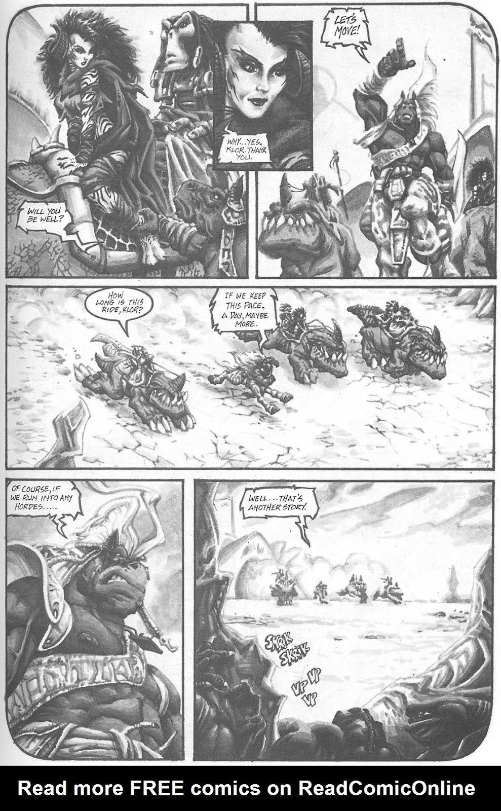 Read online Animal Mystic comic -  Issue #4 - 18