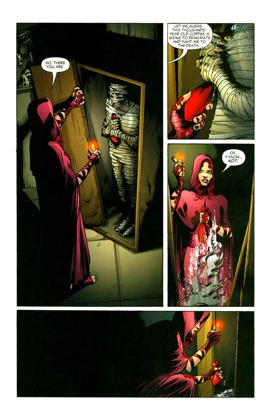 Read online Fallen Angel (2003) comic -  Issue #9 - 20