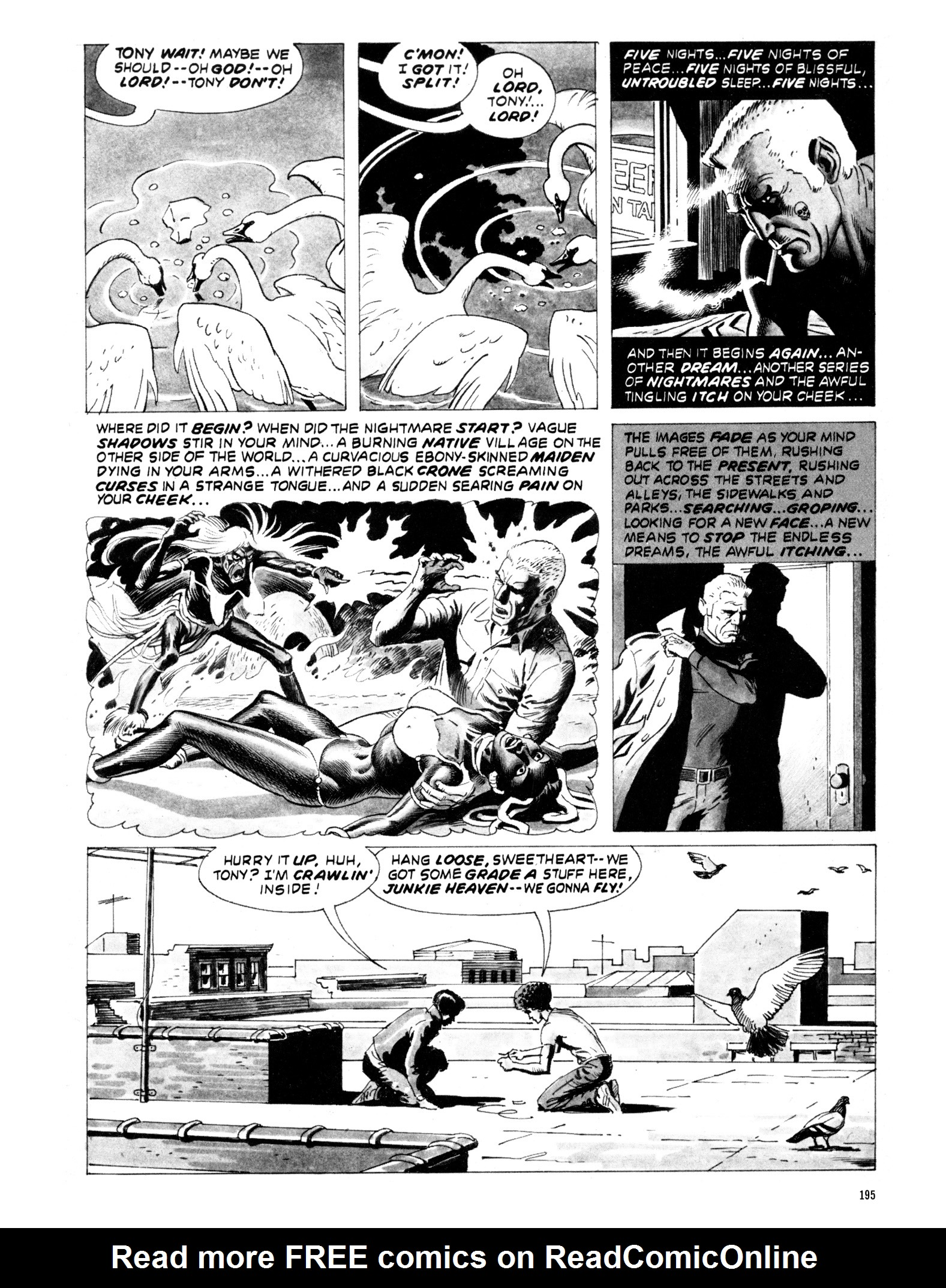 Read online Eerie Archives comic -  Issue # TPB 20 - 195