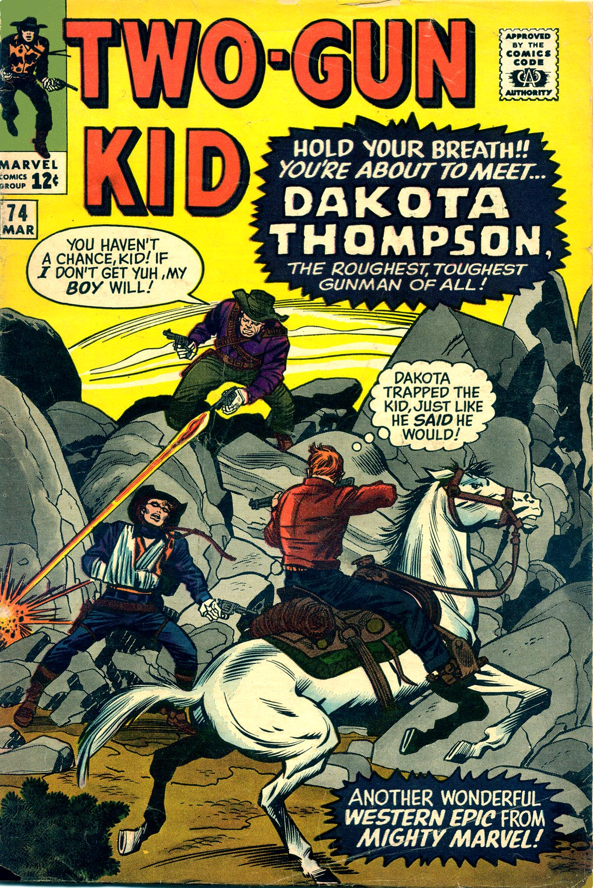Read online Two-Gun Kid comic -  Issue #74 - 1