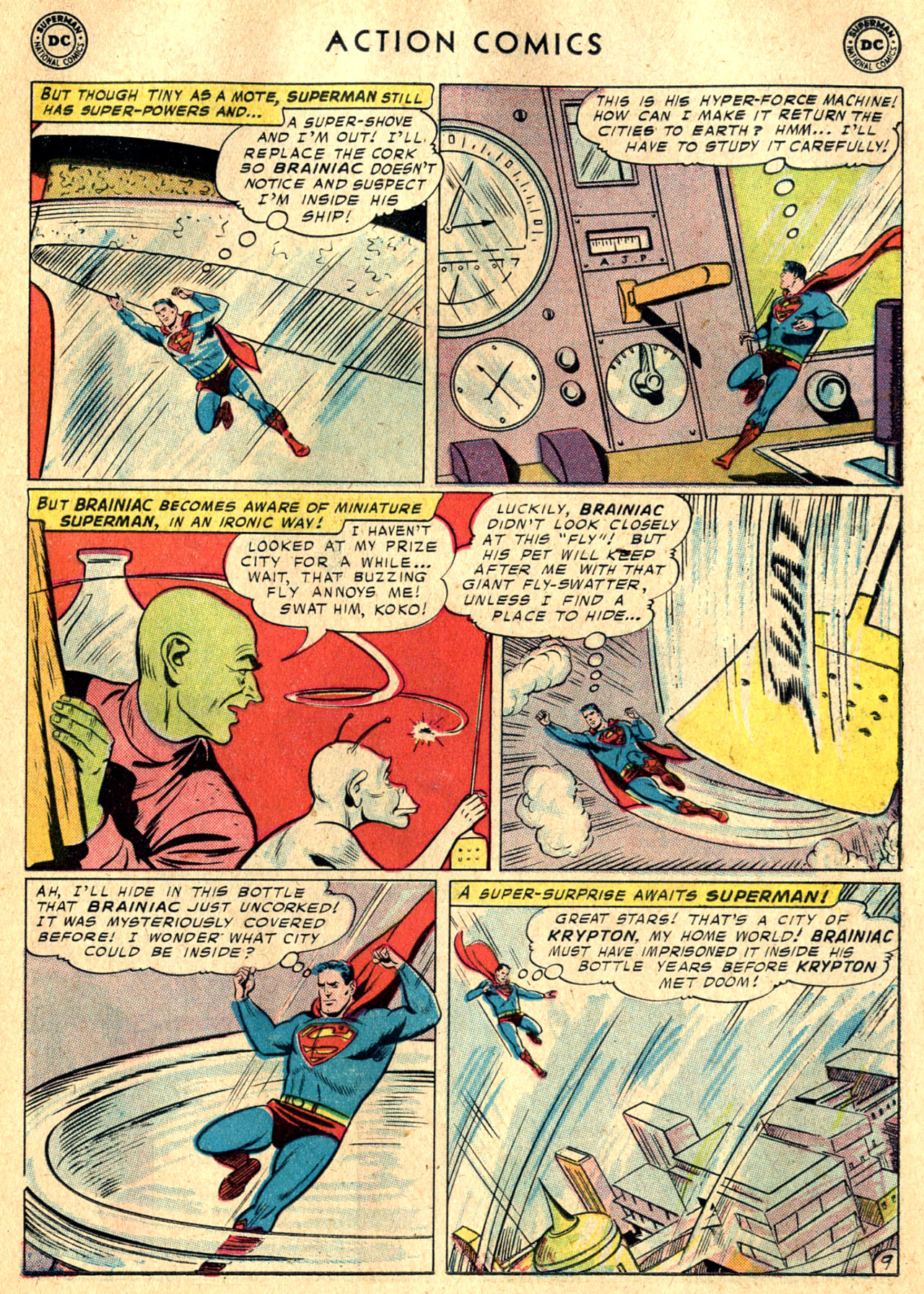 Read online Action Comics (1938) comic -  Issue #242 - 11