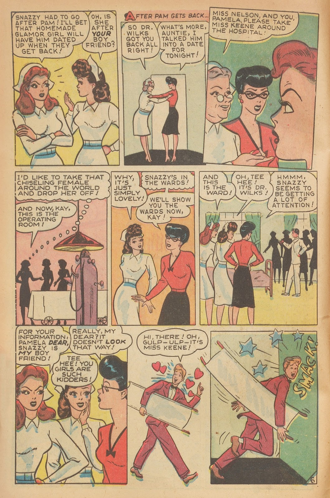 Read online Nellie The Nurse (1945) comic -  Issue #15 - 8