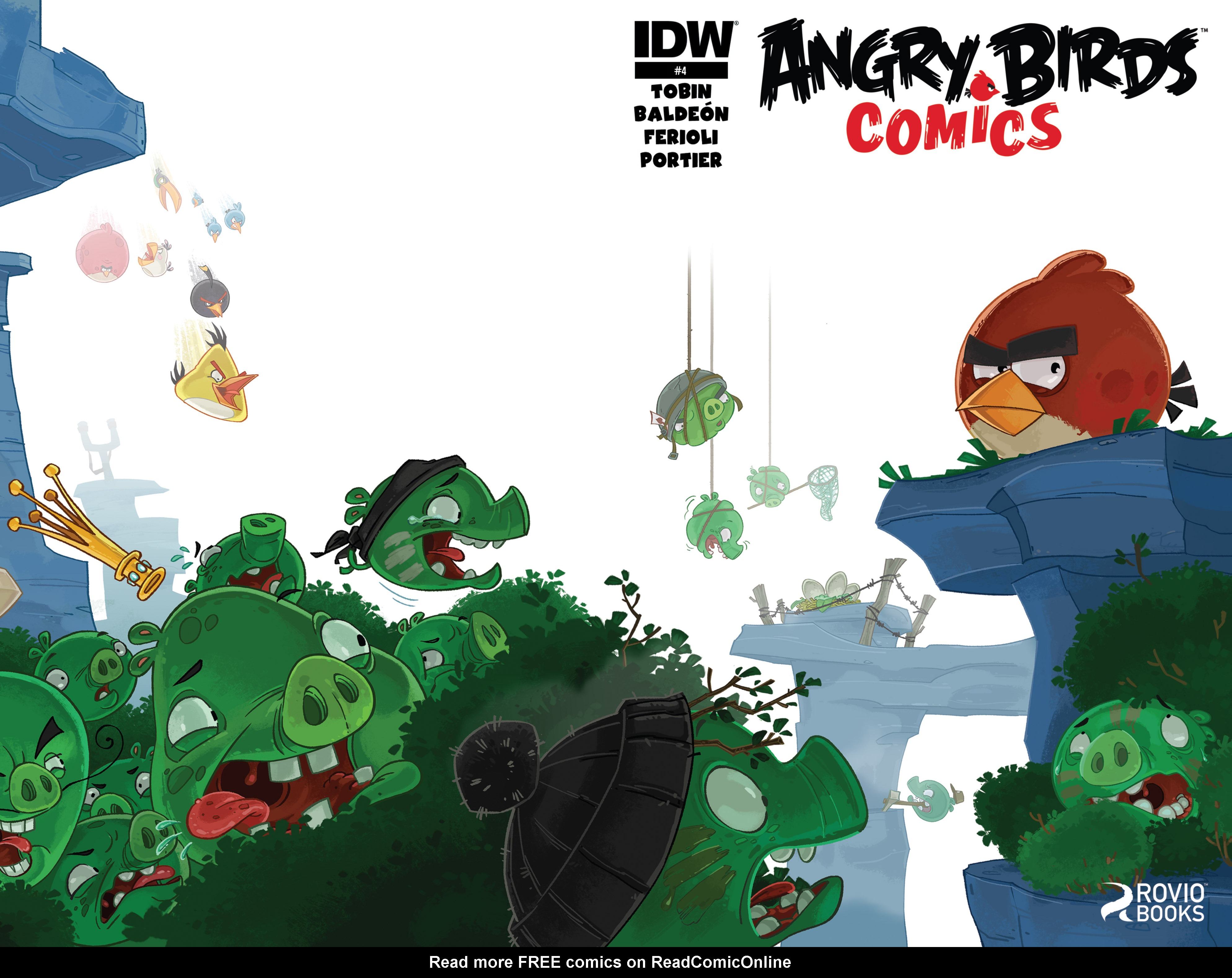 Read online Angry Birds Comics (2014) comic -  Issue #4 - 1