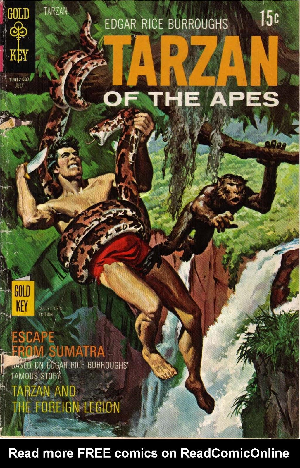 Tarzan (1962) issue 193 - Page 1