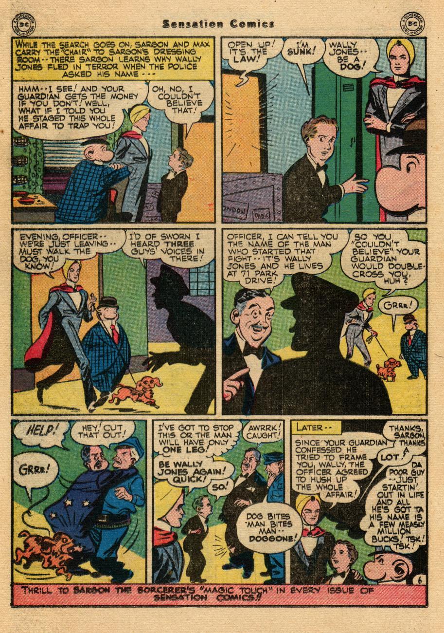 Read online Sensation (Mystery) Comics comic -  Issue #61 - 30