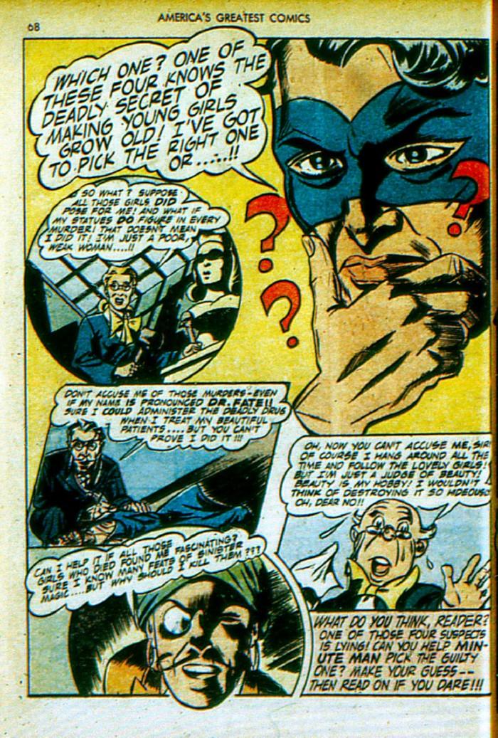 Read online America's Greatest Comics comic -  Issue #4 - 69