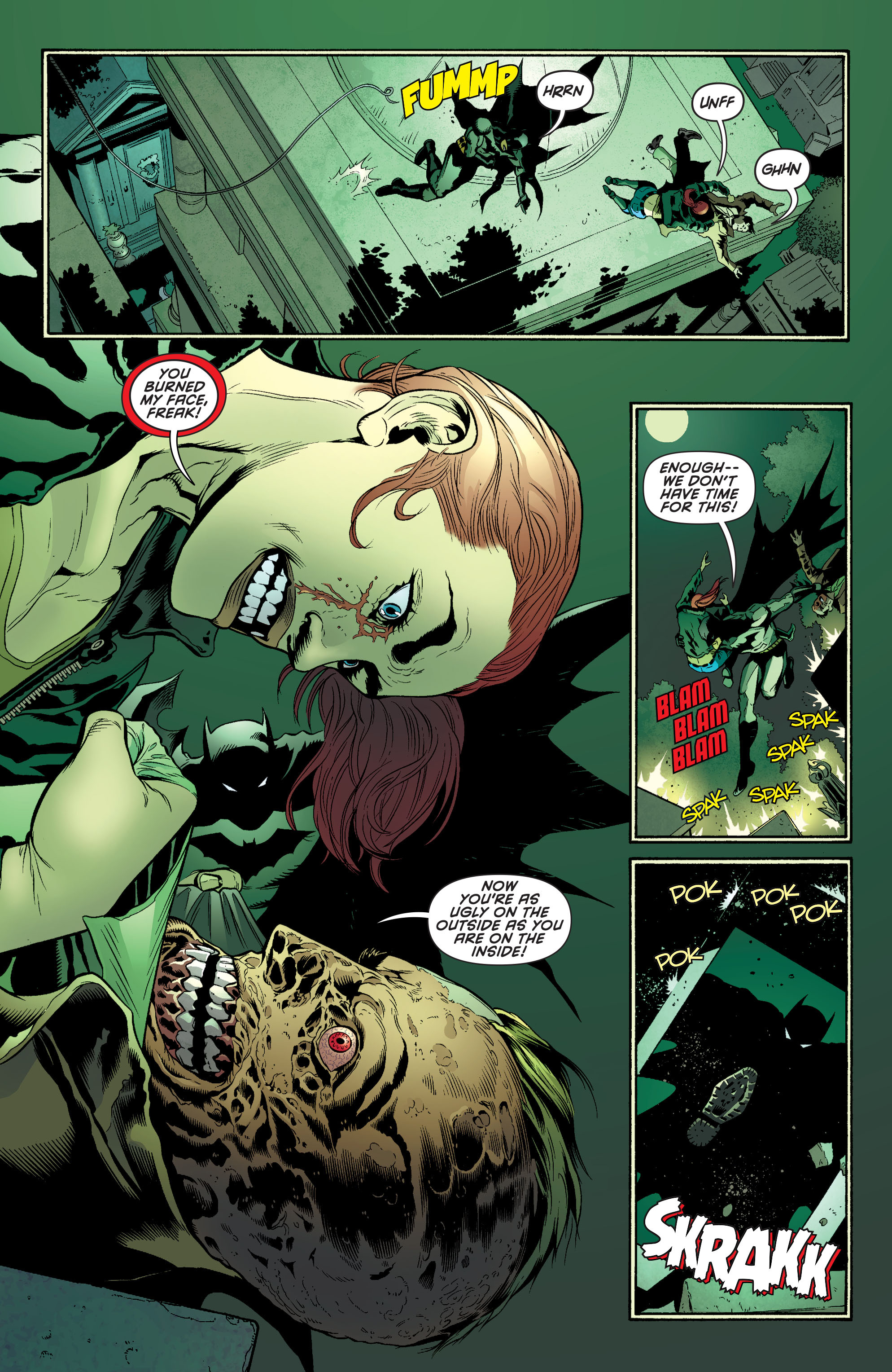 Read online Batman and Robin (2011) comic -  Issue #27 - Batman and Two-Face - 8