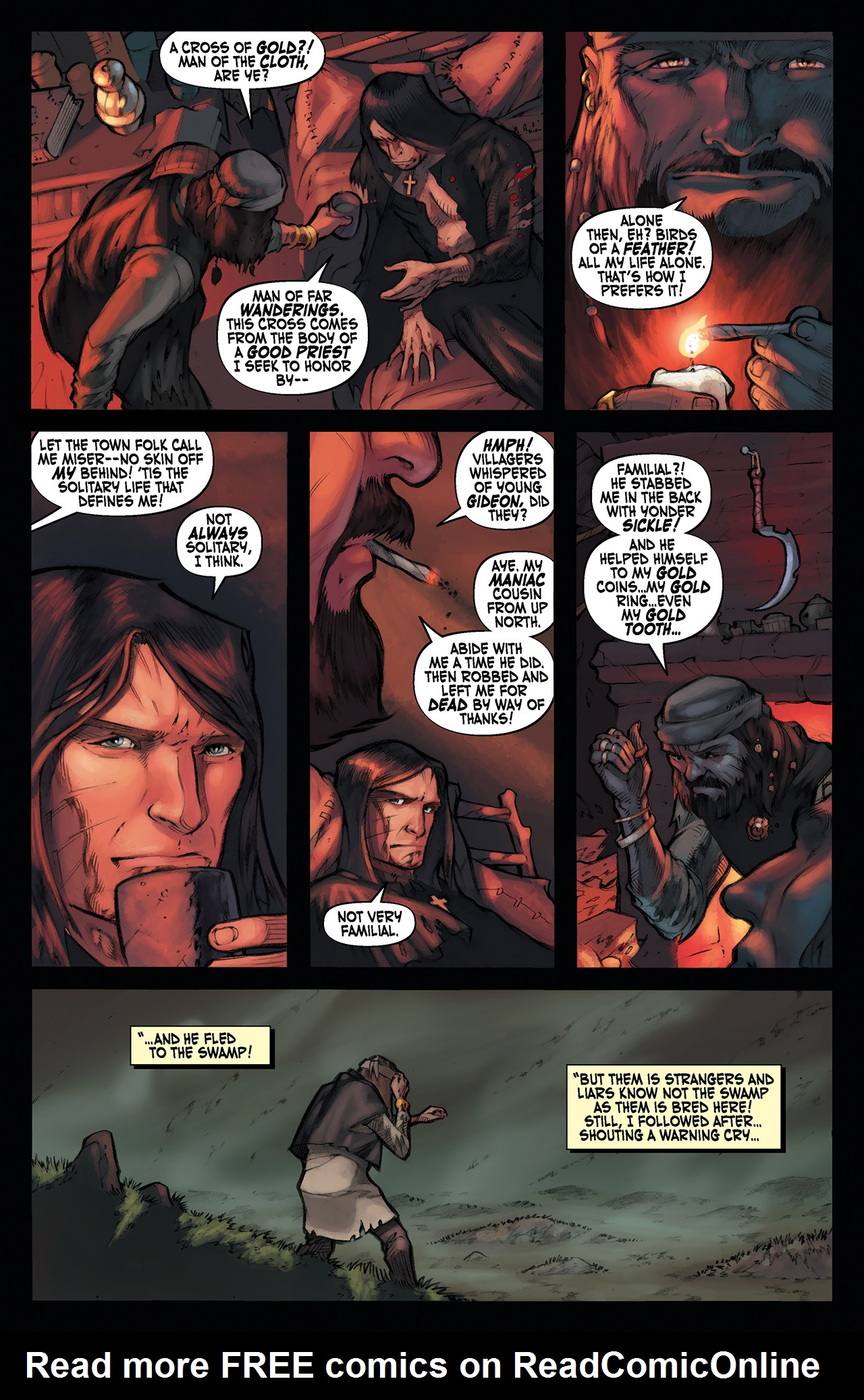 Read online Solomon Kane: Red Shadows comic -  Issue #1 - 18