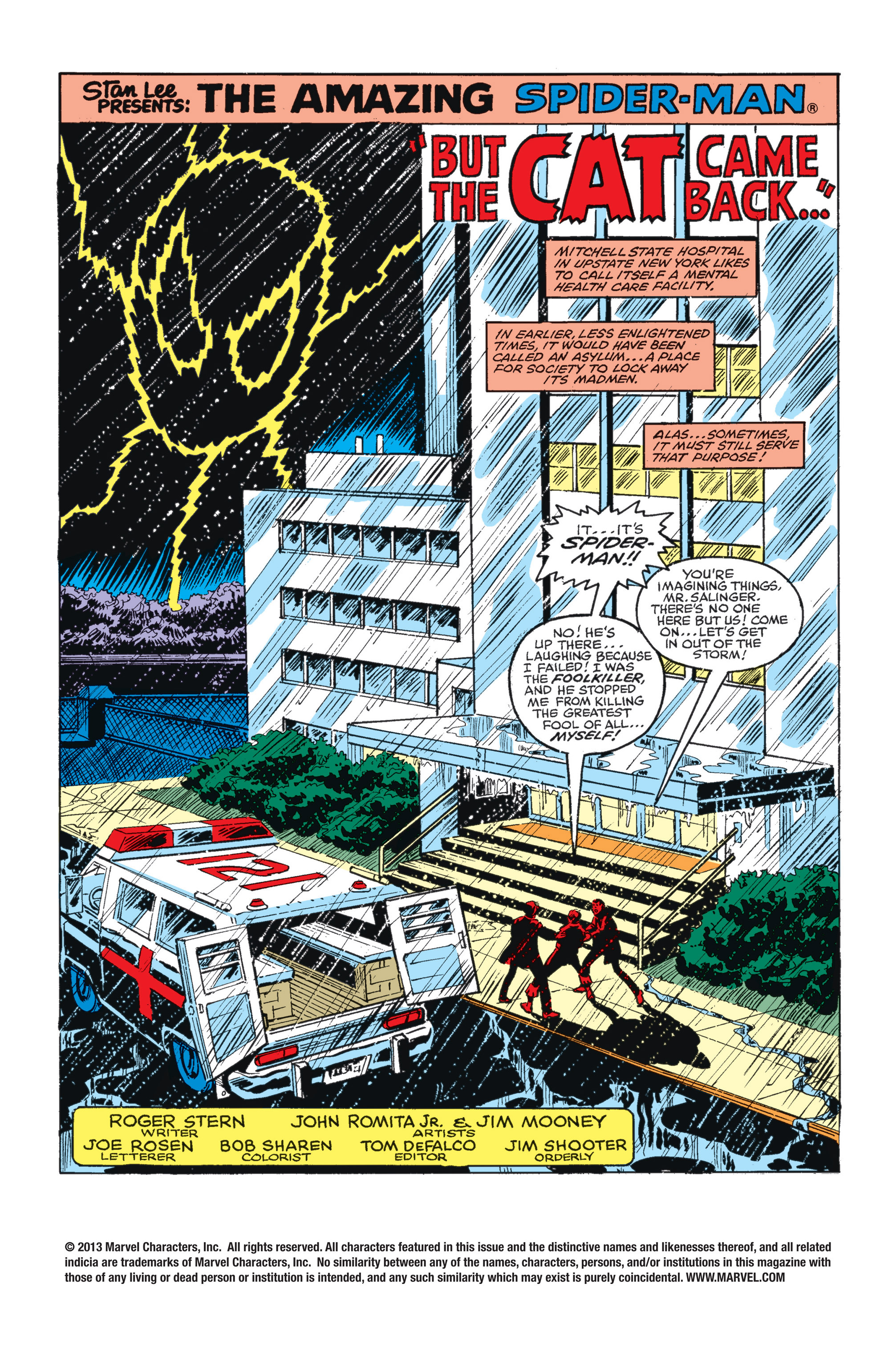 The Amazing Spider-Man (1963) 226 Page 1
