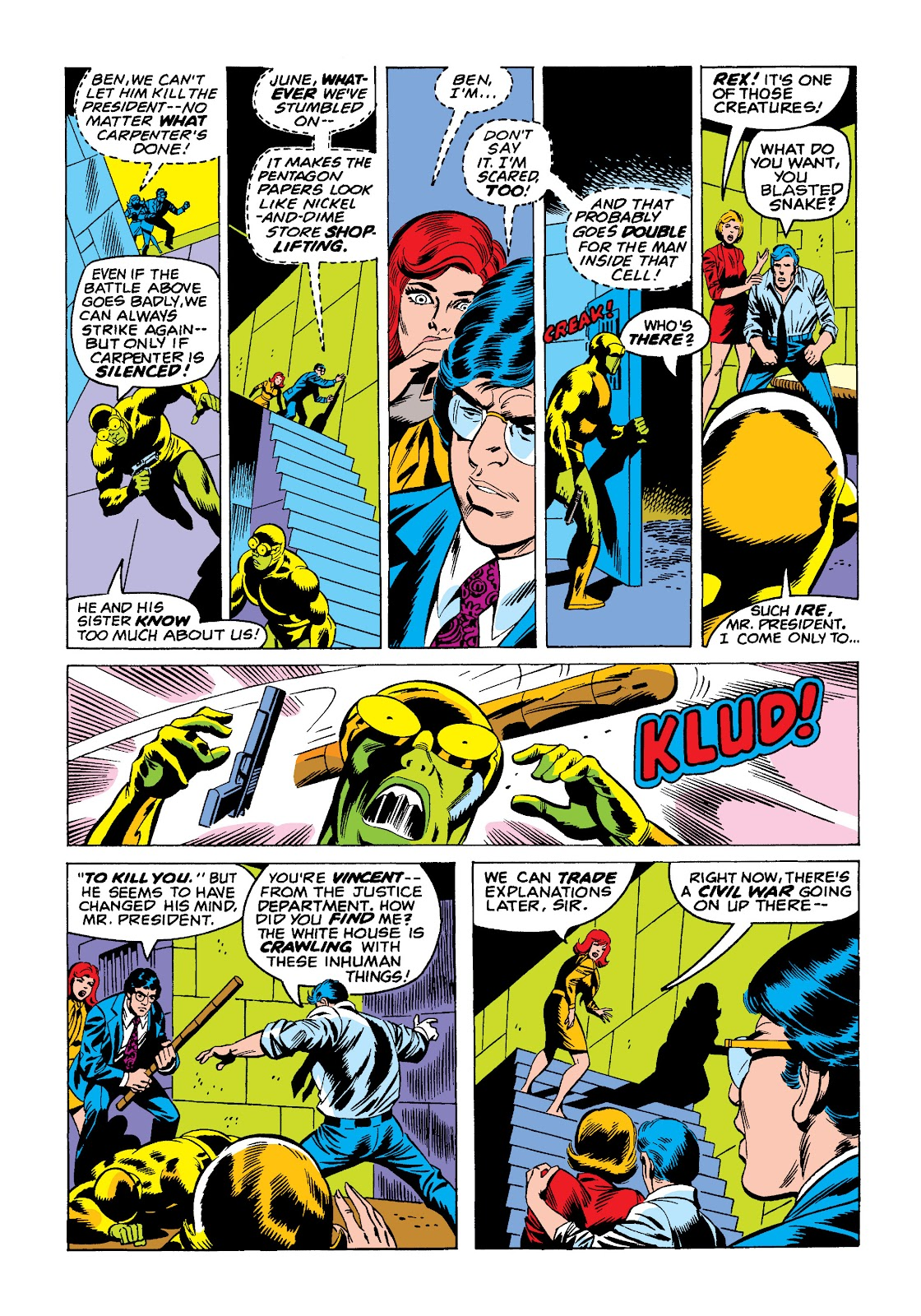 Read online Marvel Masterworks: The Incredible Hulk comic -  Issue # TPB 10 (Part 2) - 60