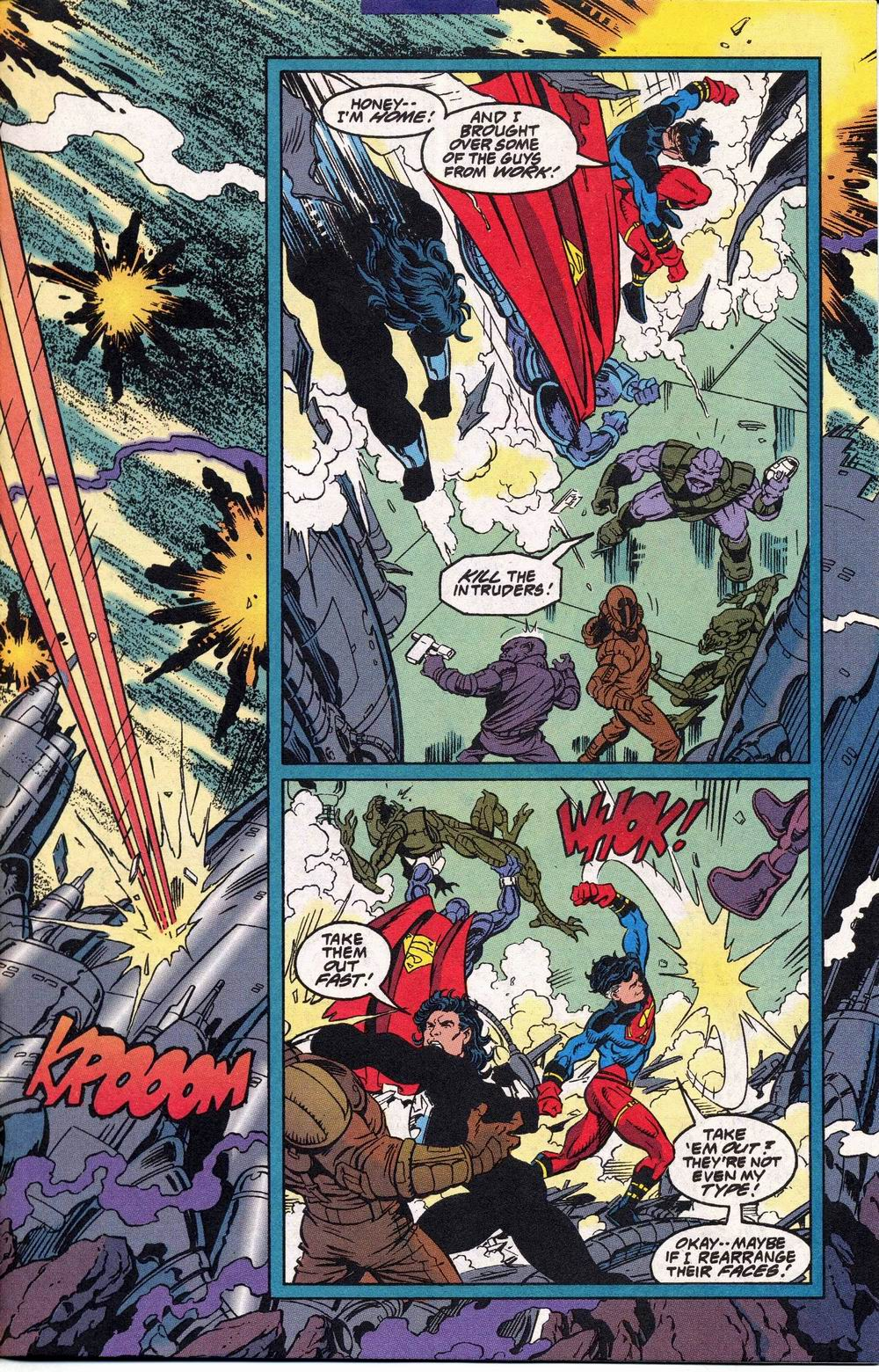 Read online Adventures of Superman (1987) comic -  Issue #504 - 8