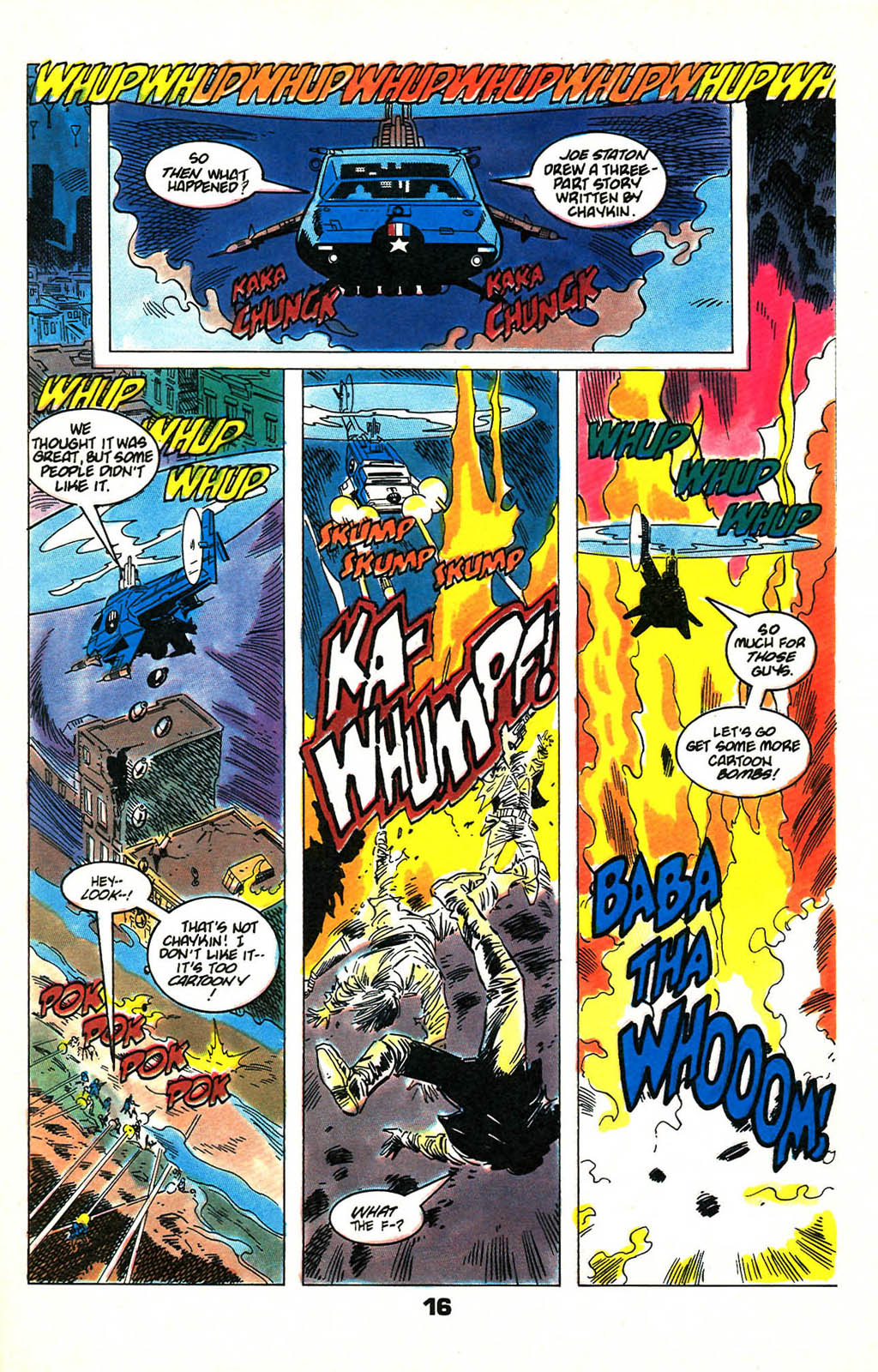 Read online American Flagg! comic -  Issue #46 - 20