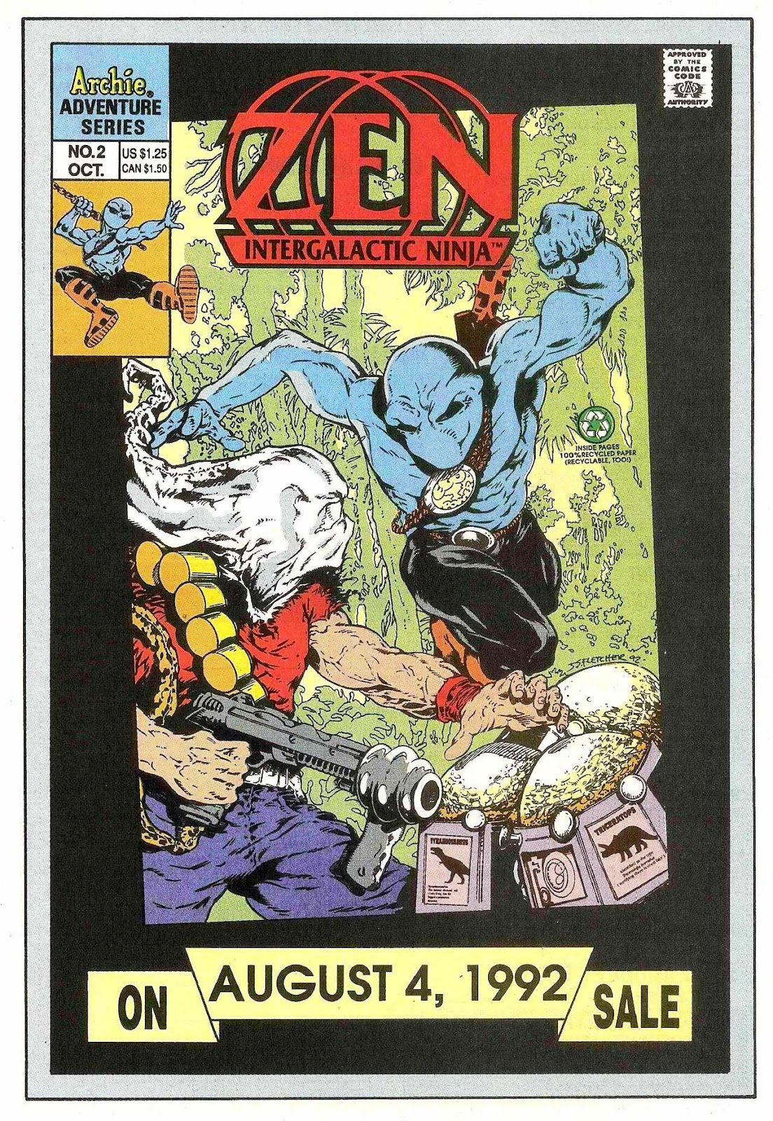 Read online Zen Intergalactic Ninja (1992) comic -  Issue #1 - 32