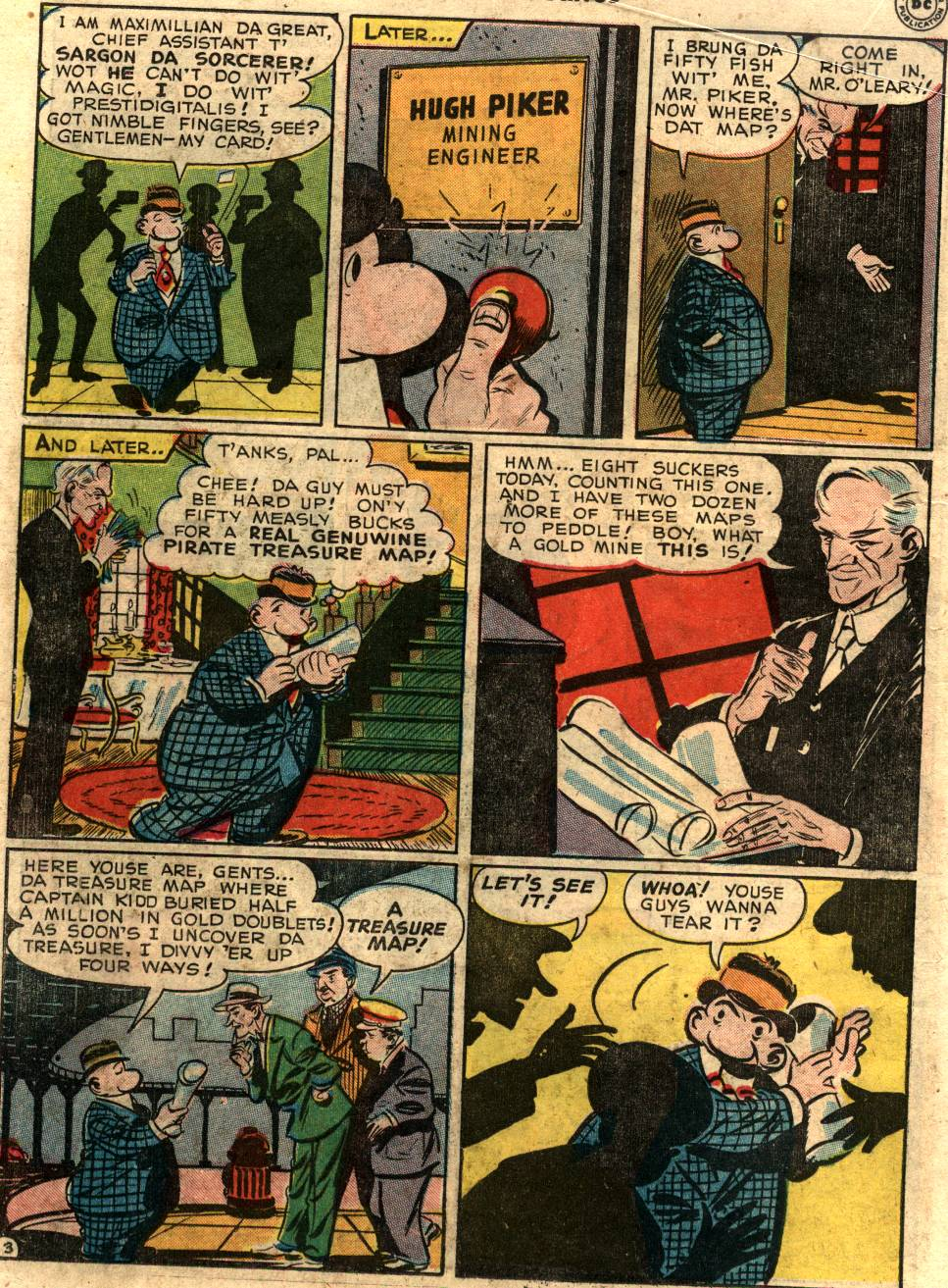 Read online Sensation (Mystery) Comics comic -  Issue #58 - 26
