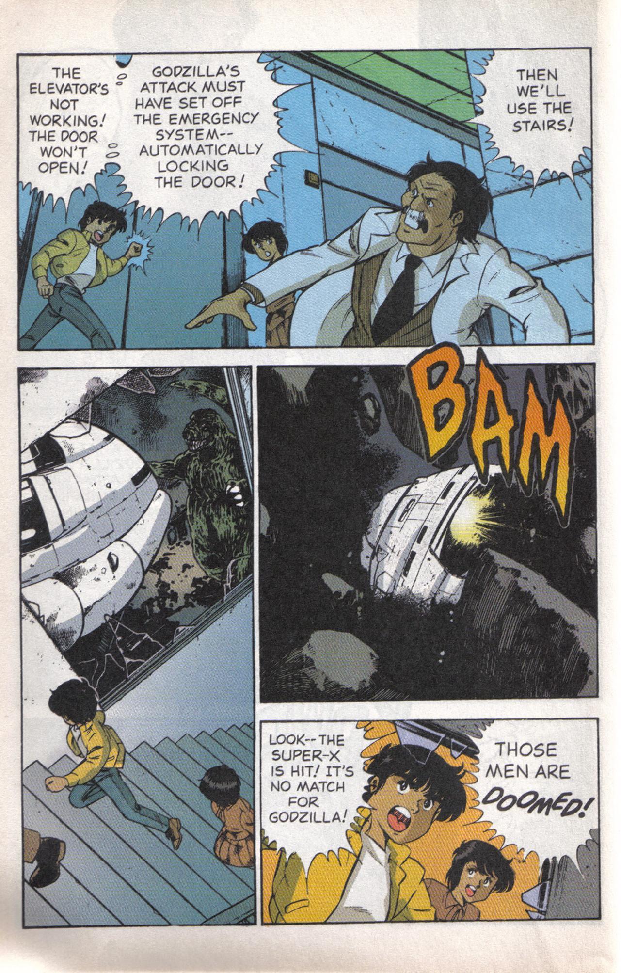 Read online Dark Horse Classics: Terror of Godzilla comic -  Issue #5 - 19