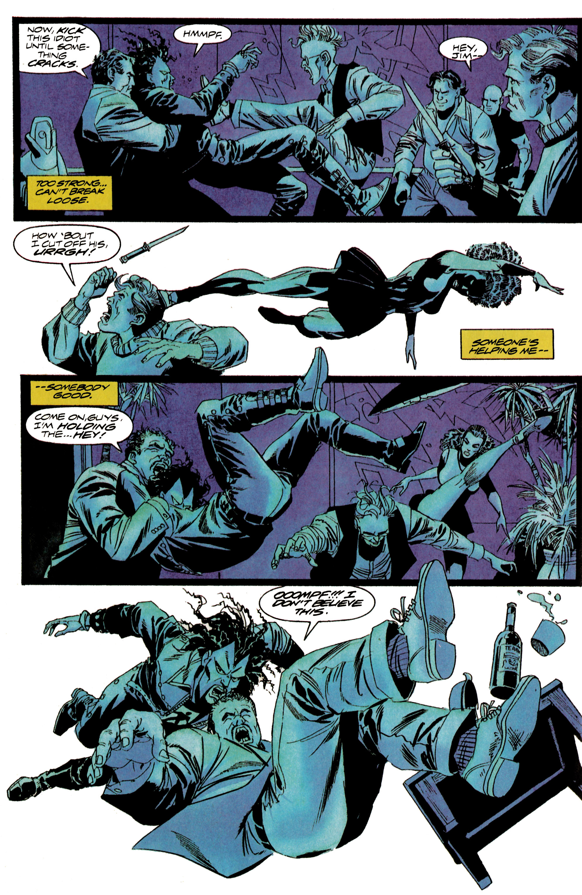 Read online Shadowman (1992) comic -  Issue #16 - 17