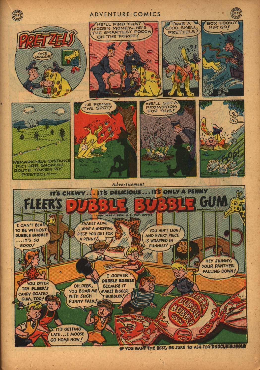 Read online Adventure Comics (1938) comic -  Issue #109 - 33