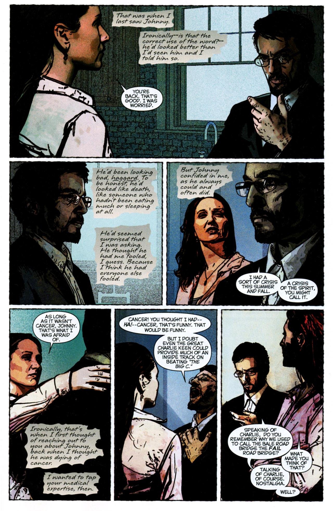 Read online Stephen King's N. comic -  Issue #4 - 5