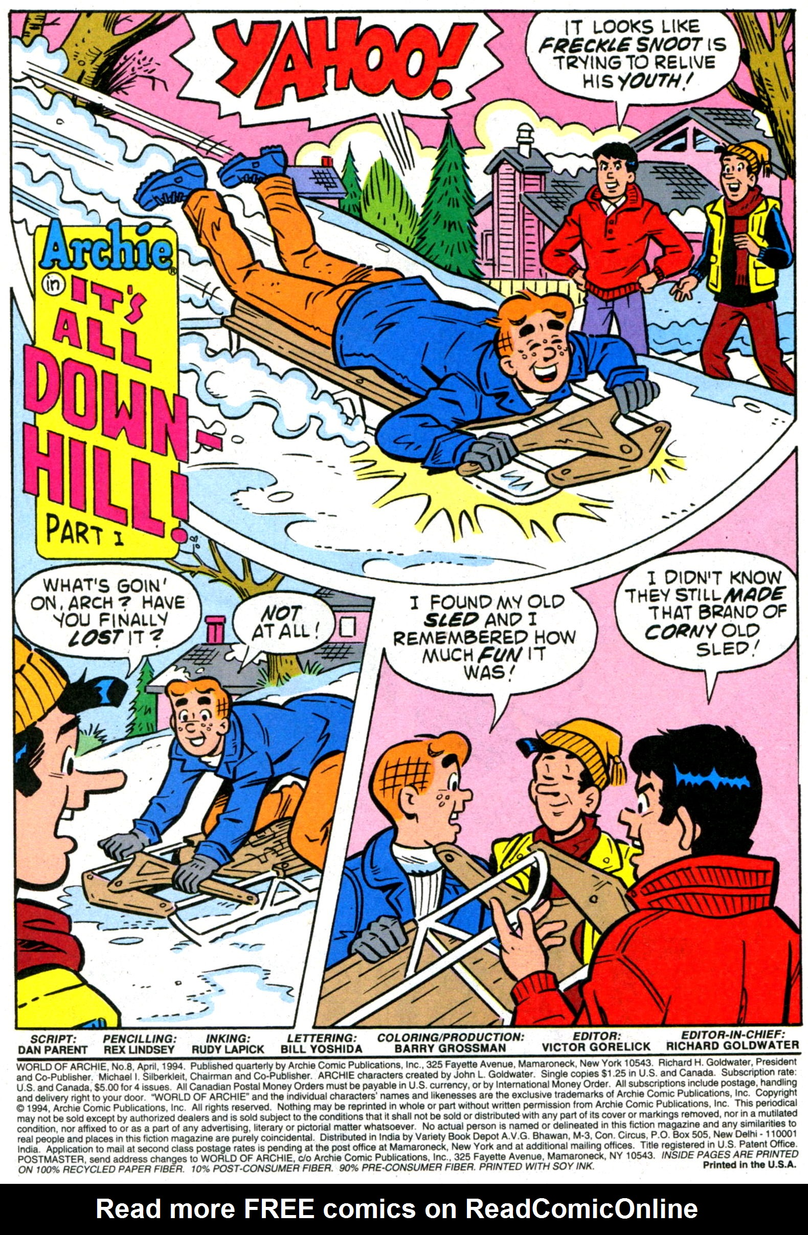 Read online World of Archie comic -  Issue #8 - 3