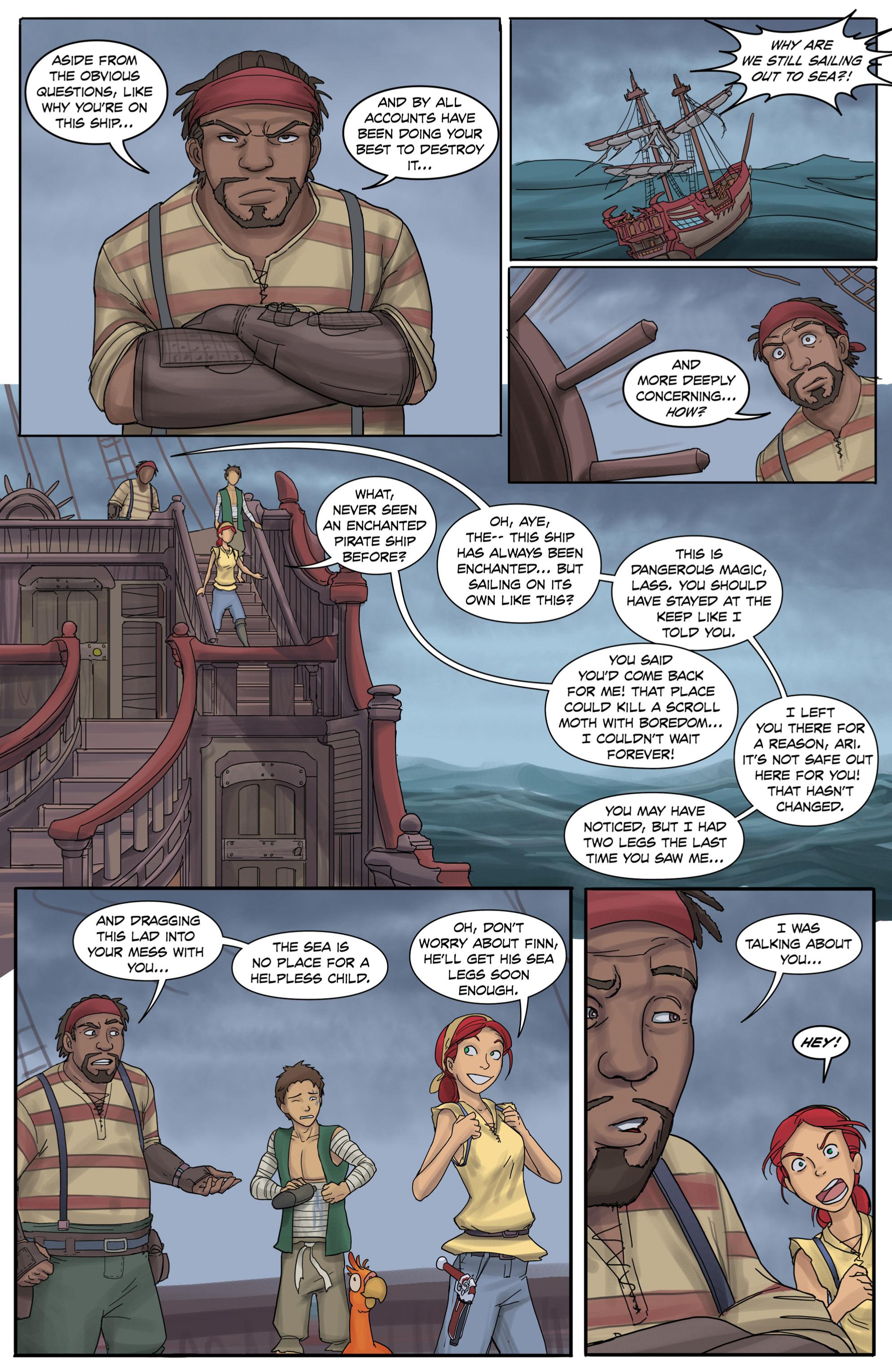 Read online Anne Bonnie comic -  Issue #3 - 5