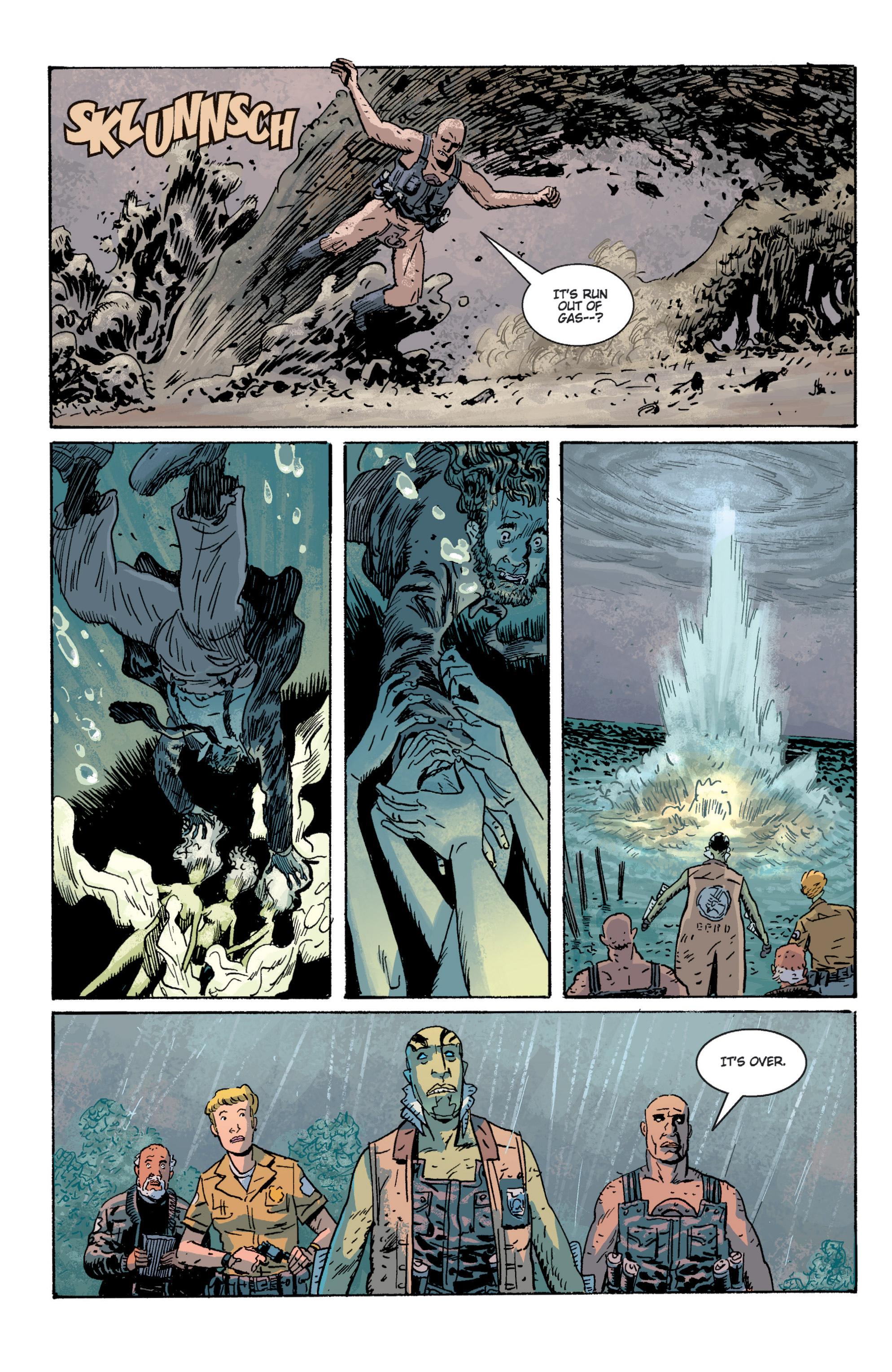 Read online B.P.R.D. (2003) comic -  Issue # TPB 2 - 56
