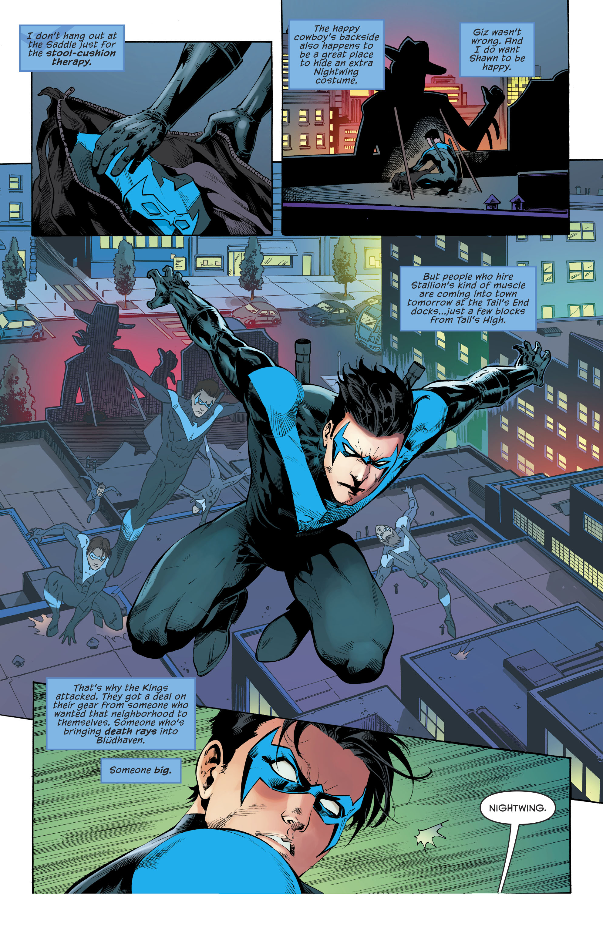 Read online Nightwing (2016) comic -  Issue #22 - 19