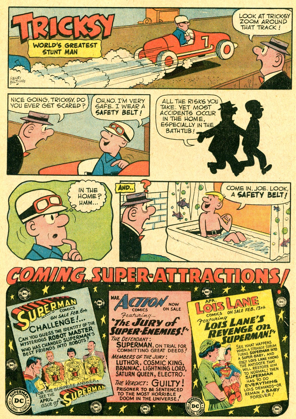 Read online Adventure Comics (1938) comic -  Issue #294 - 17