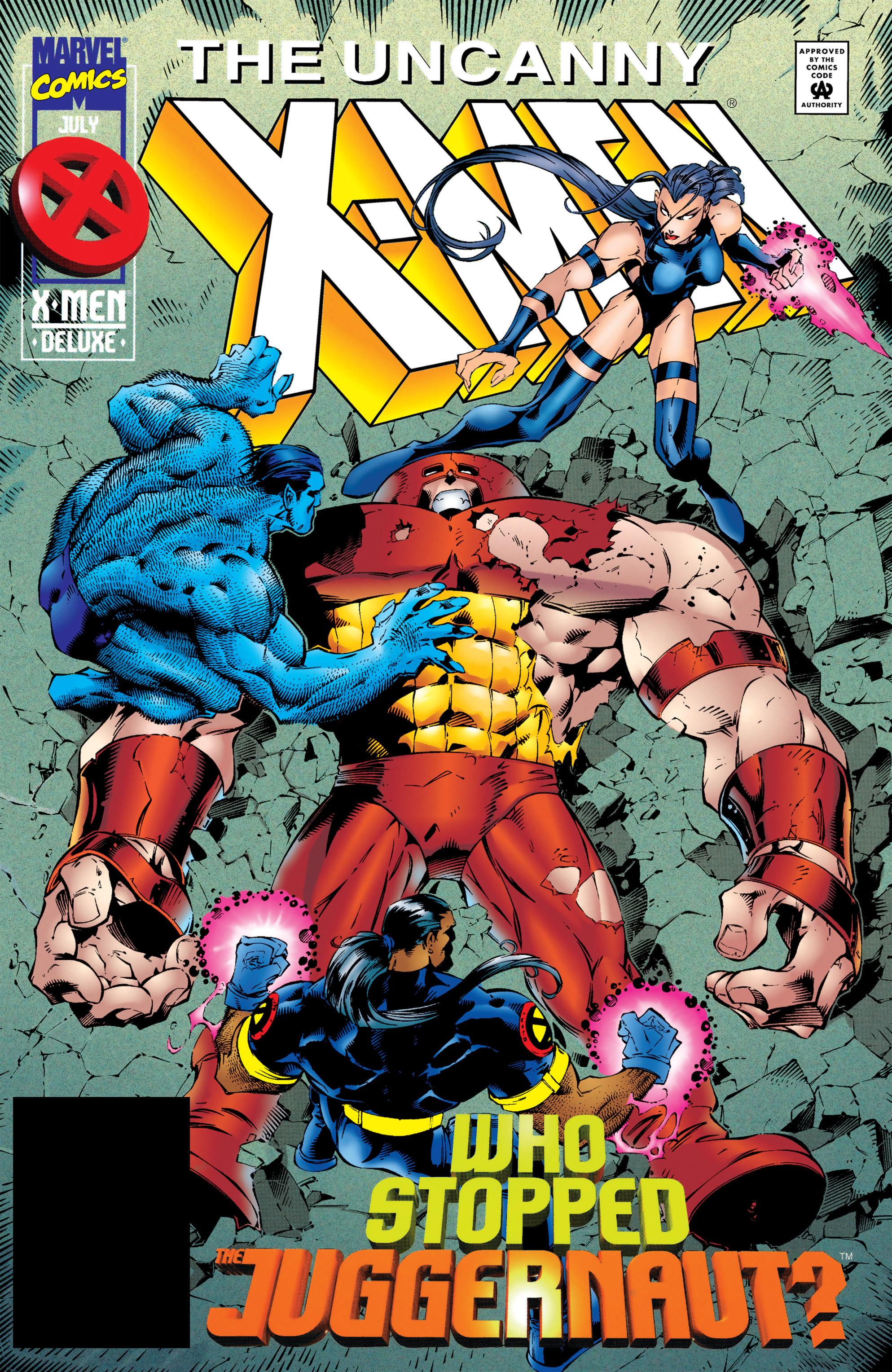 Read online Uncanny X-Men (1963) comic -  Issue #322 - 1